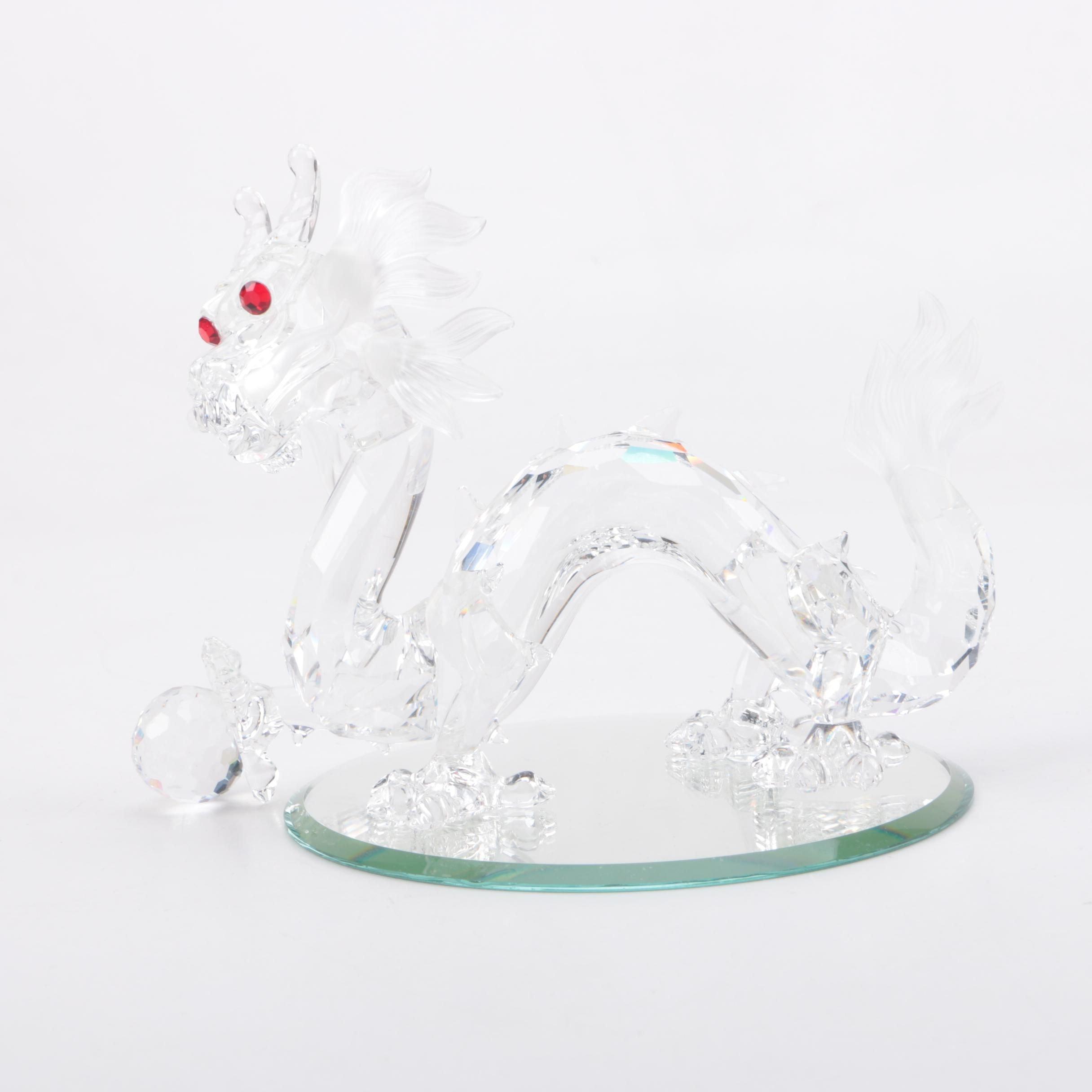 Swarovski Crystal Society Dragon Figurine