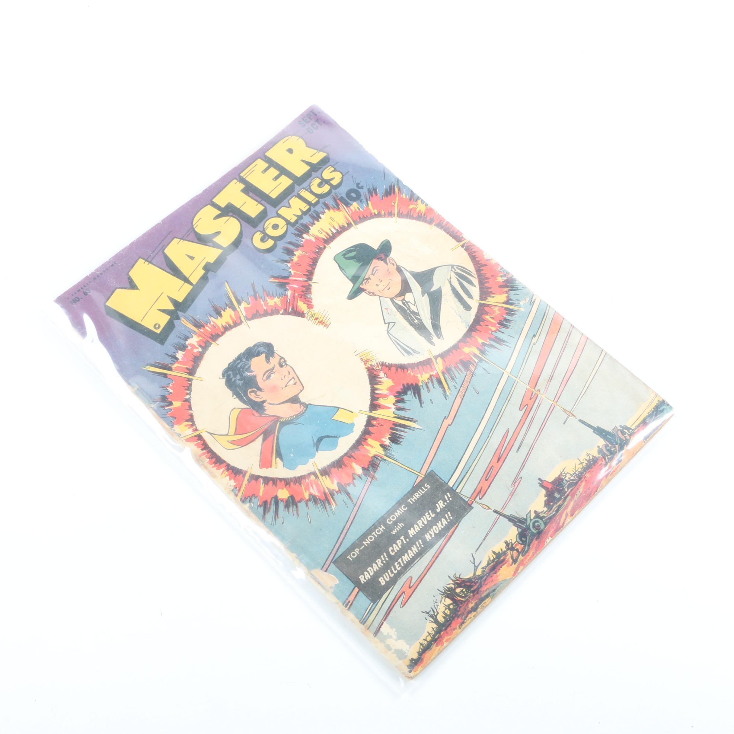 "1945 Fawcett ""Master Comics"" Issue #63 Comic Book"