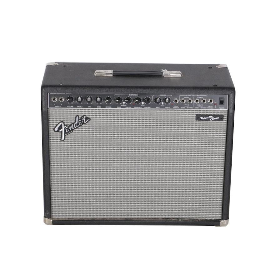 C  1980s Fender Princeton Chorus PR 82 Combo Amp