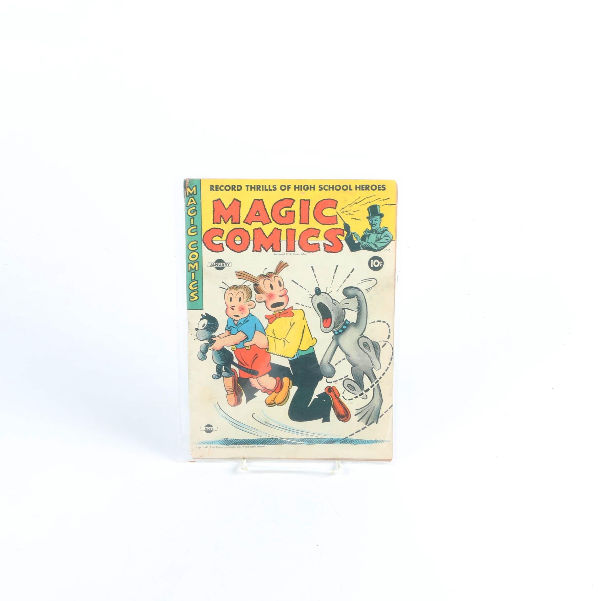 "1944 ""Magic Comics"" Issue #54 Comic Book"