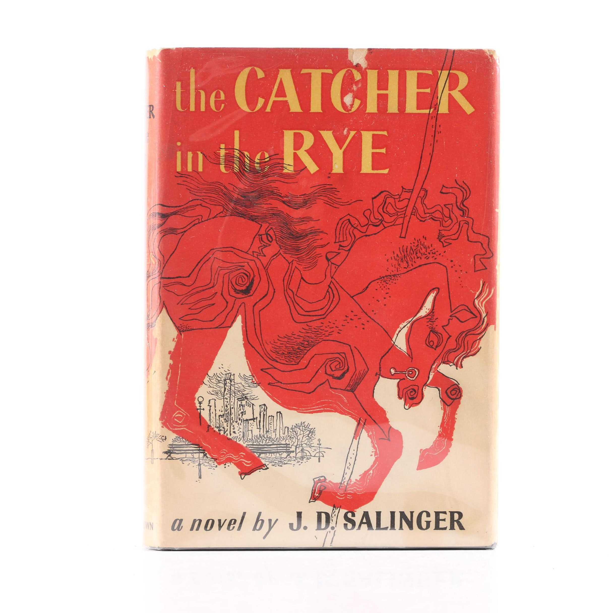 "1951 First Edition, Fourth Printing ""The Catcher in the Rye"" by J.D. Salinger"
