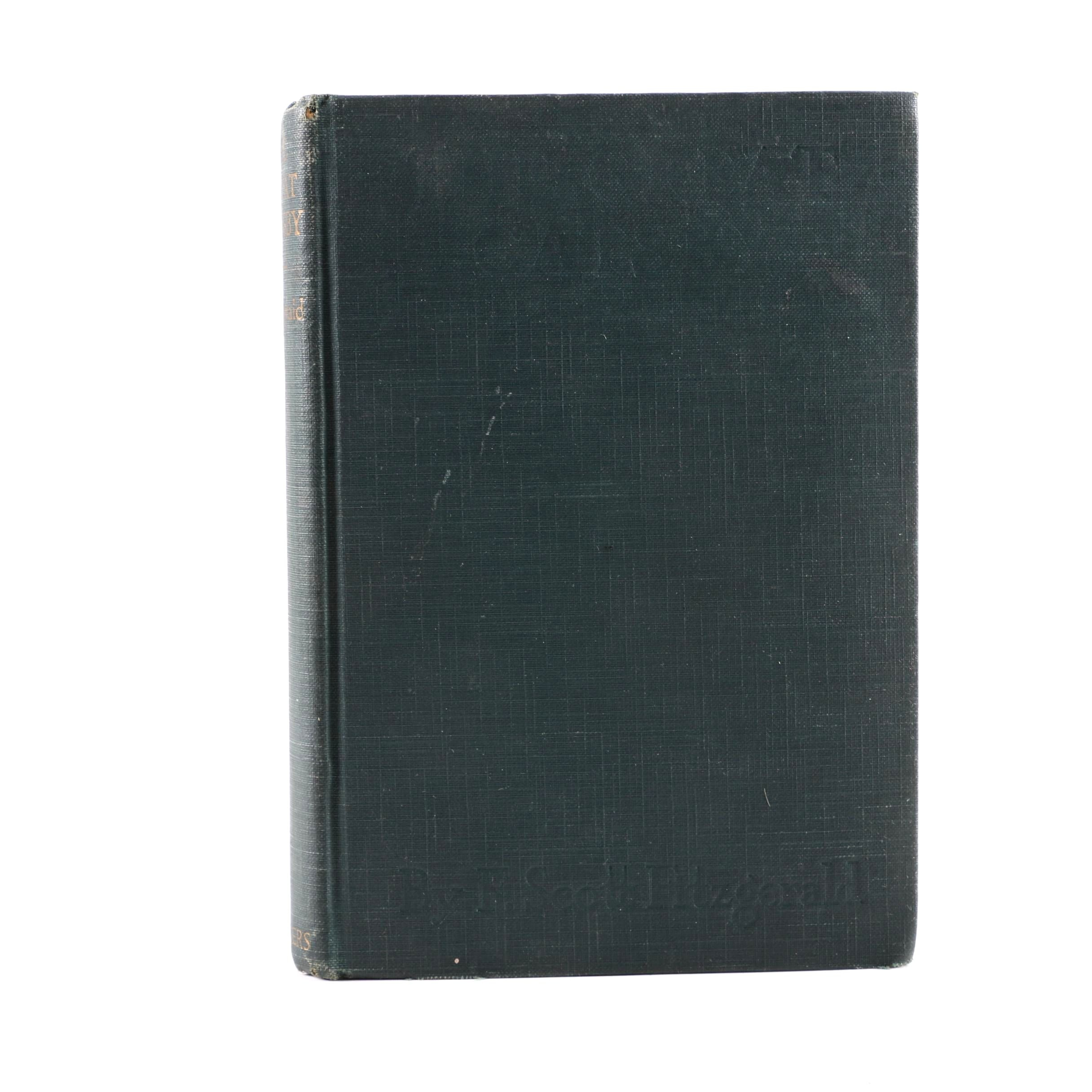 """1925 First Edition """"The Great Gatsby"""" by F. Scott Fitzgerald"""