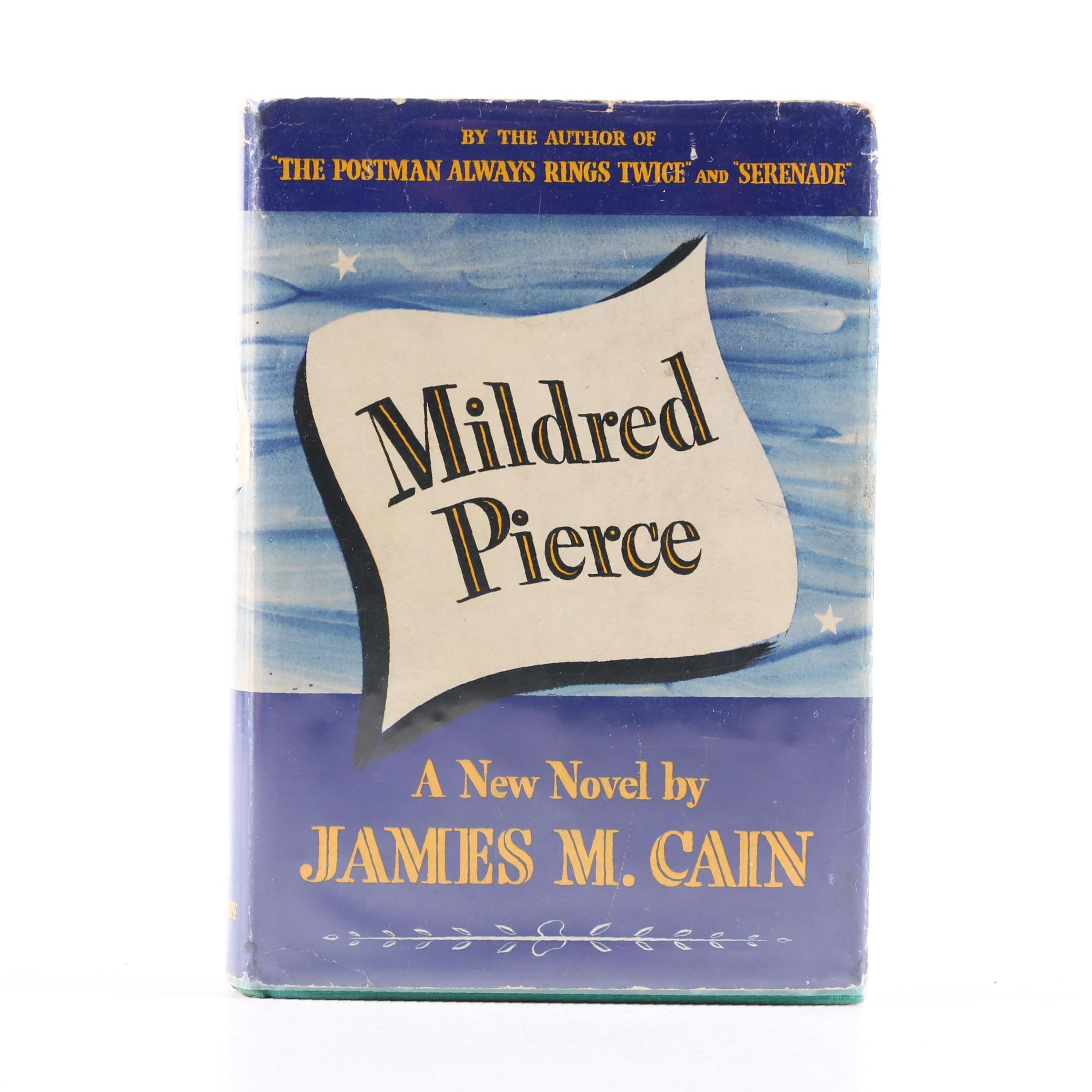 """1941 First Edition """"Mildred Pierce"""" by James M. Cain"""