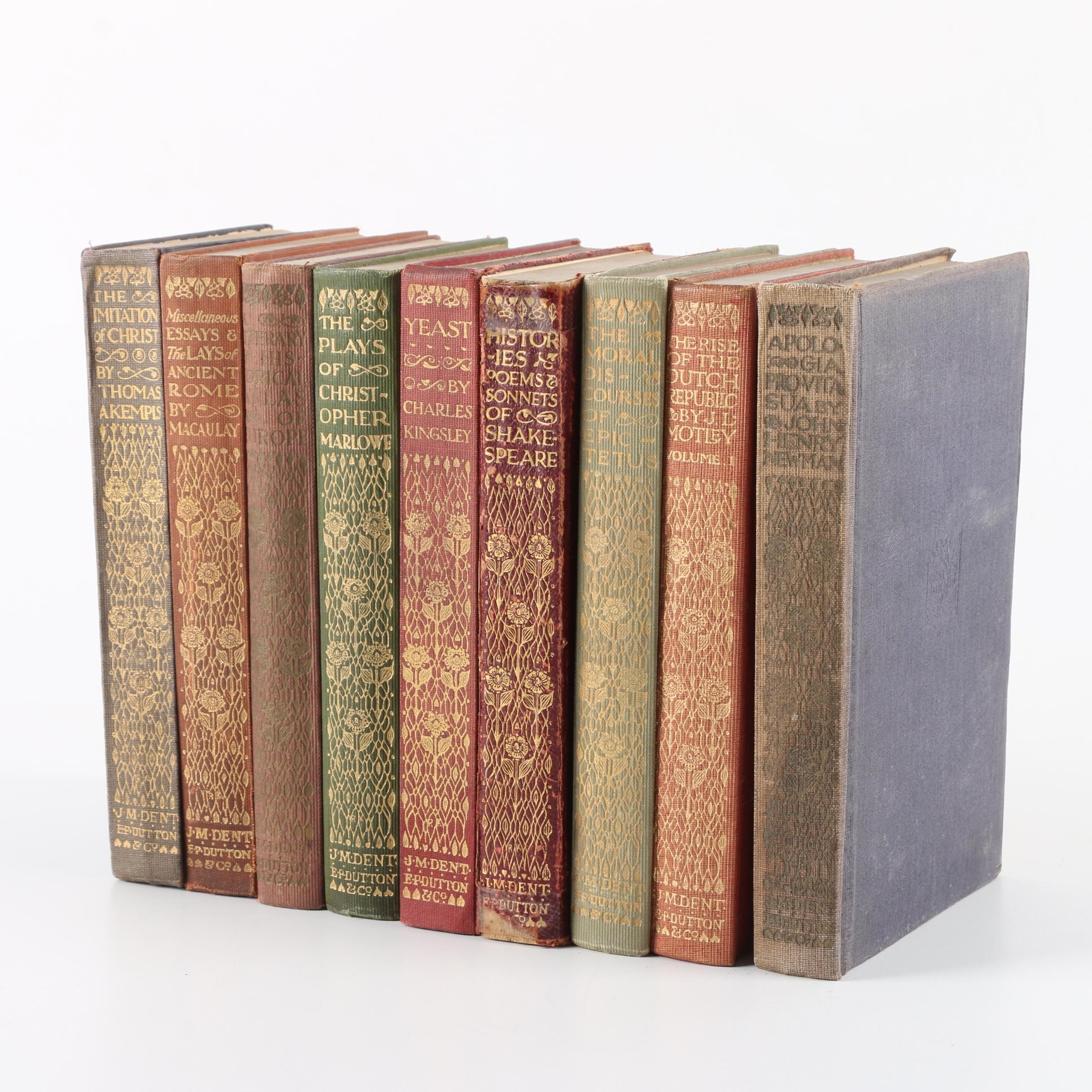 """Everyman's Library Books Including """"Histories, Poems & Sonnets of Shakespeare"""""""