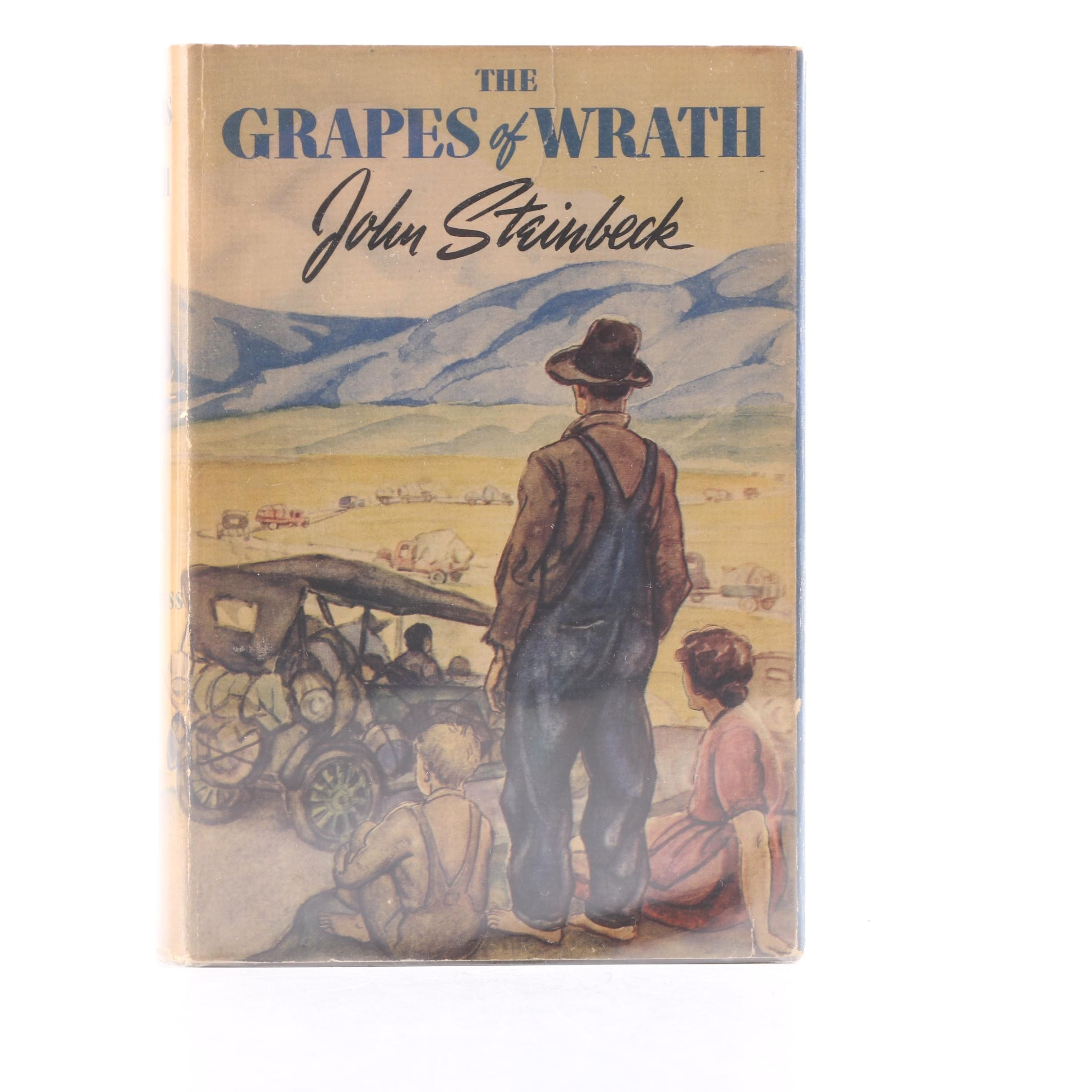 "1939 First Printing ""The Grapes of Wrath"" by John Steinbeck"
