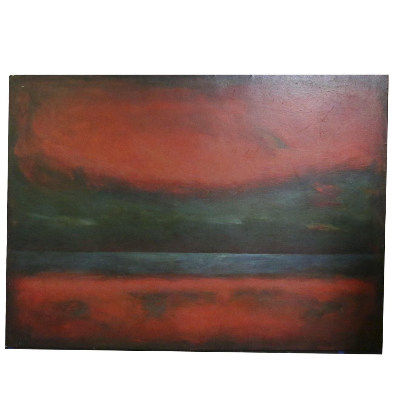 Abstract Non-Objective Oil Painting
