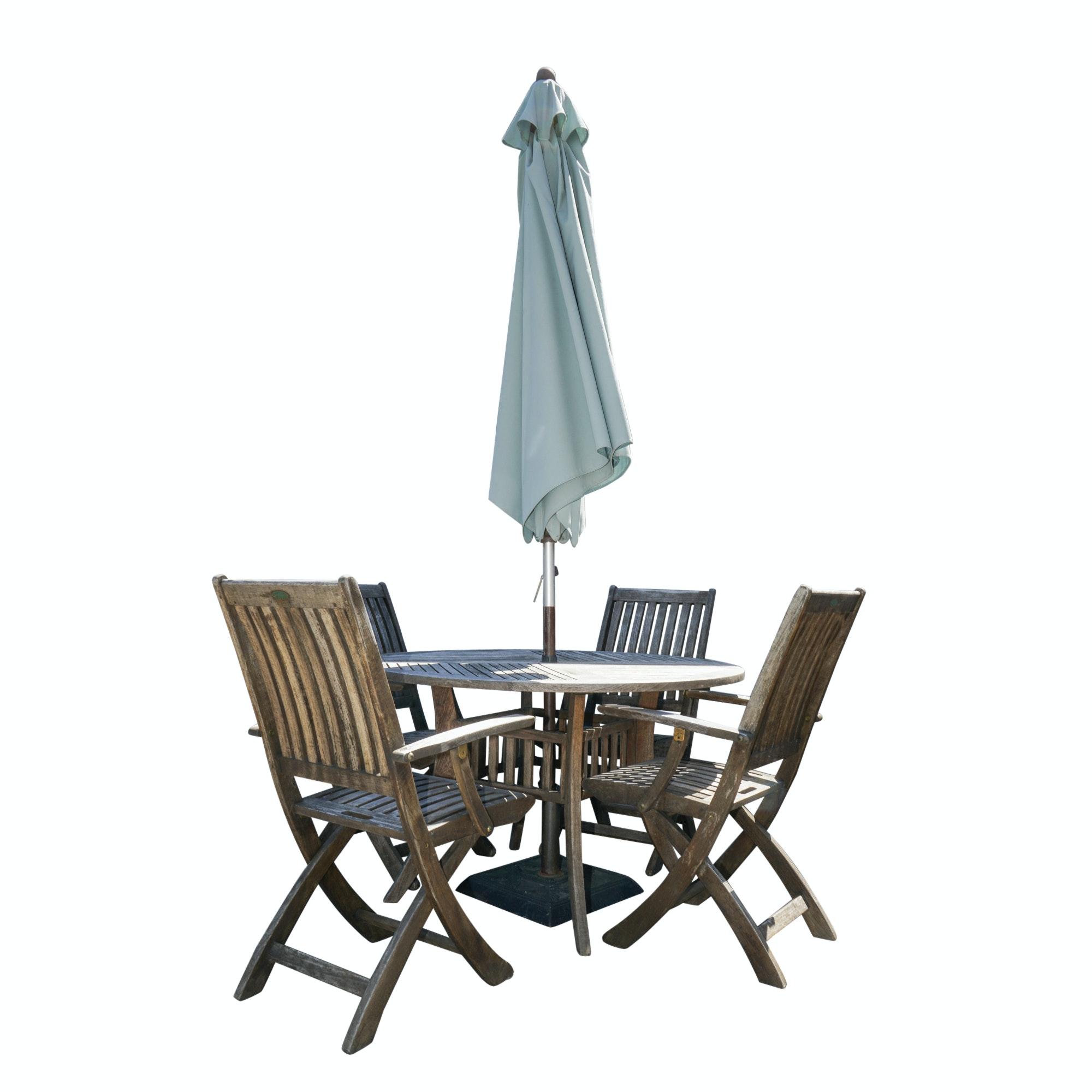 Westminster Teak Patio Furniture Set