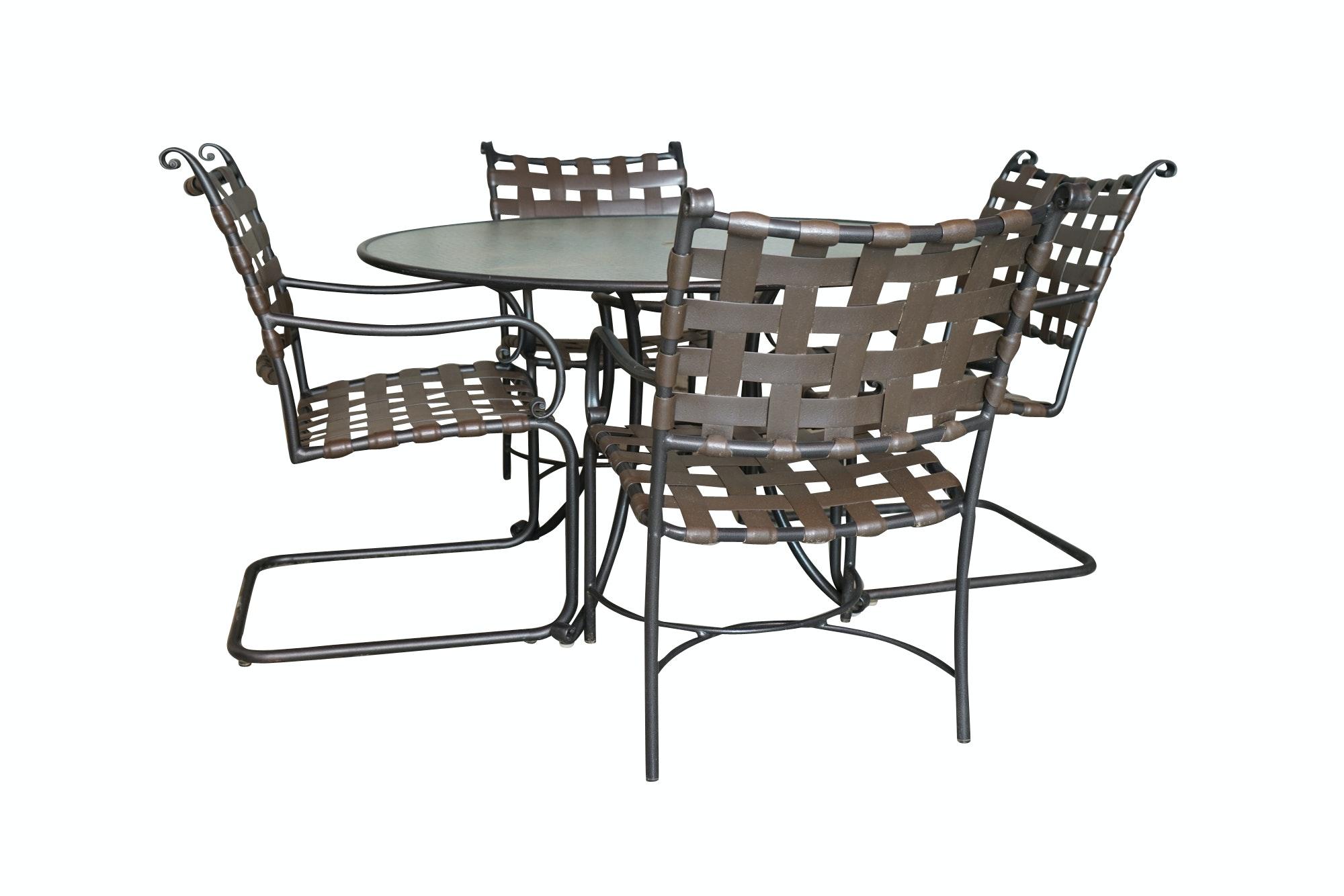 Brown Jordan Patio Furniture Set