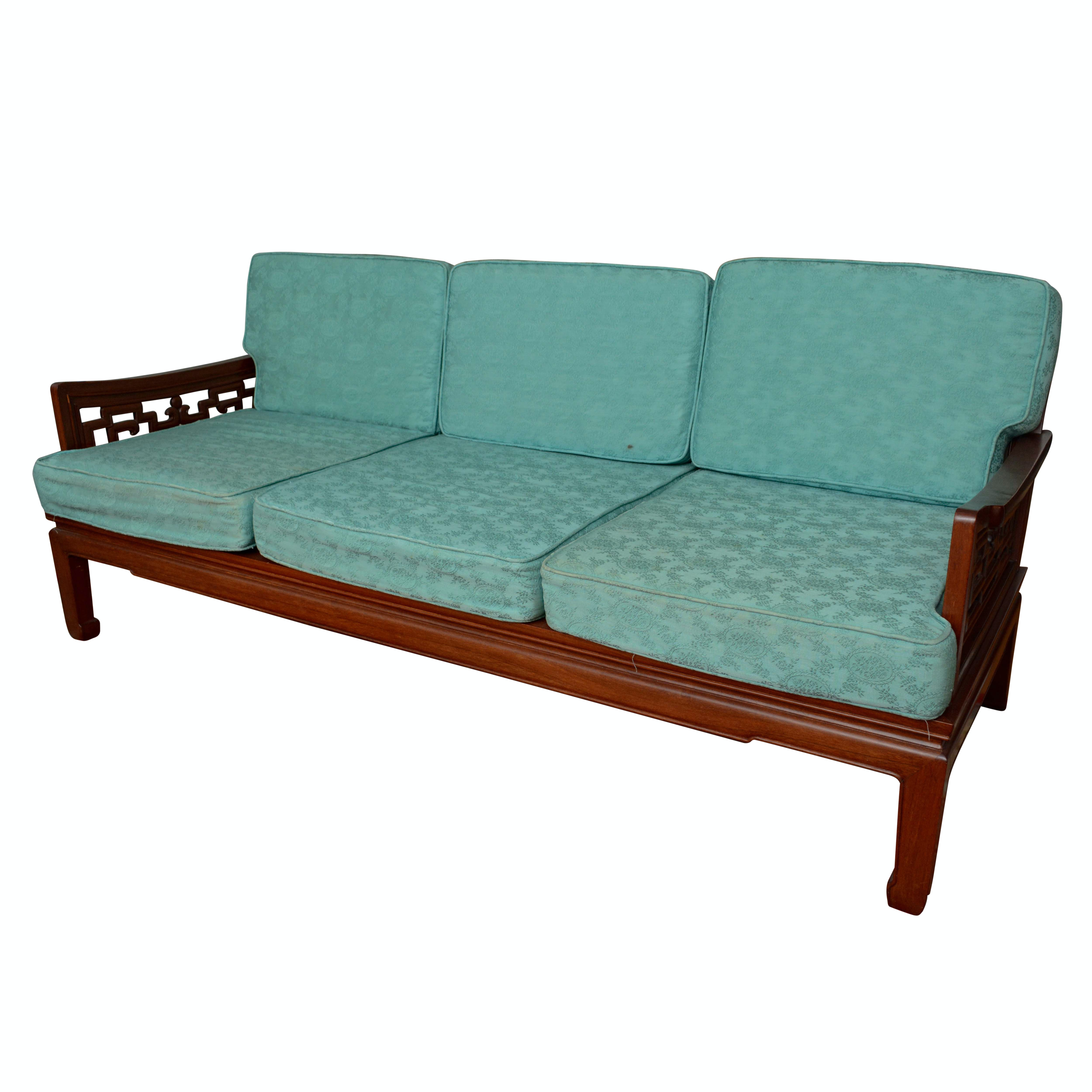Vintage Chinese Inspired Sofa ...
