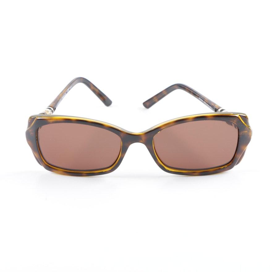 b0f73fe93f Gucci Havana Tortoiseshell Style Sunglasses with Case   EBTH