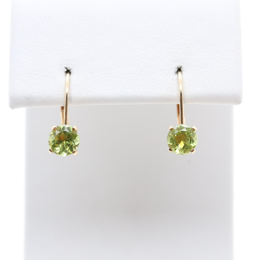 bubble london modern copy earrings rose road stud peridot gold jewellery product side
