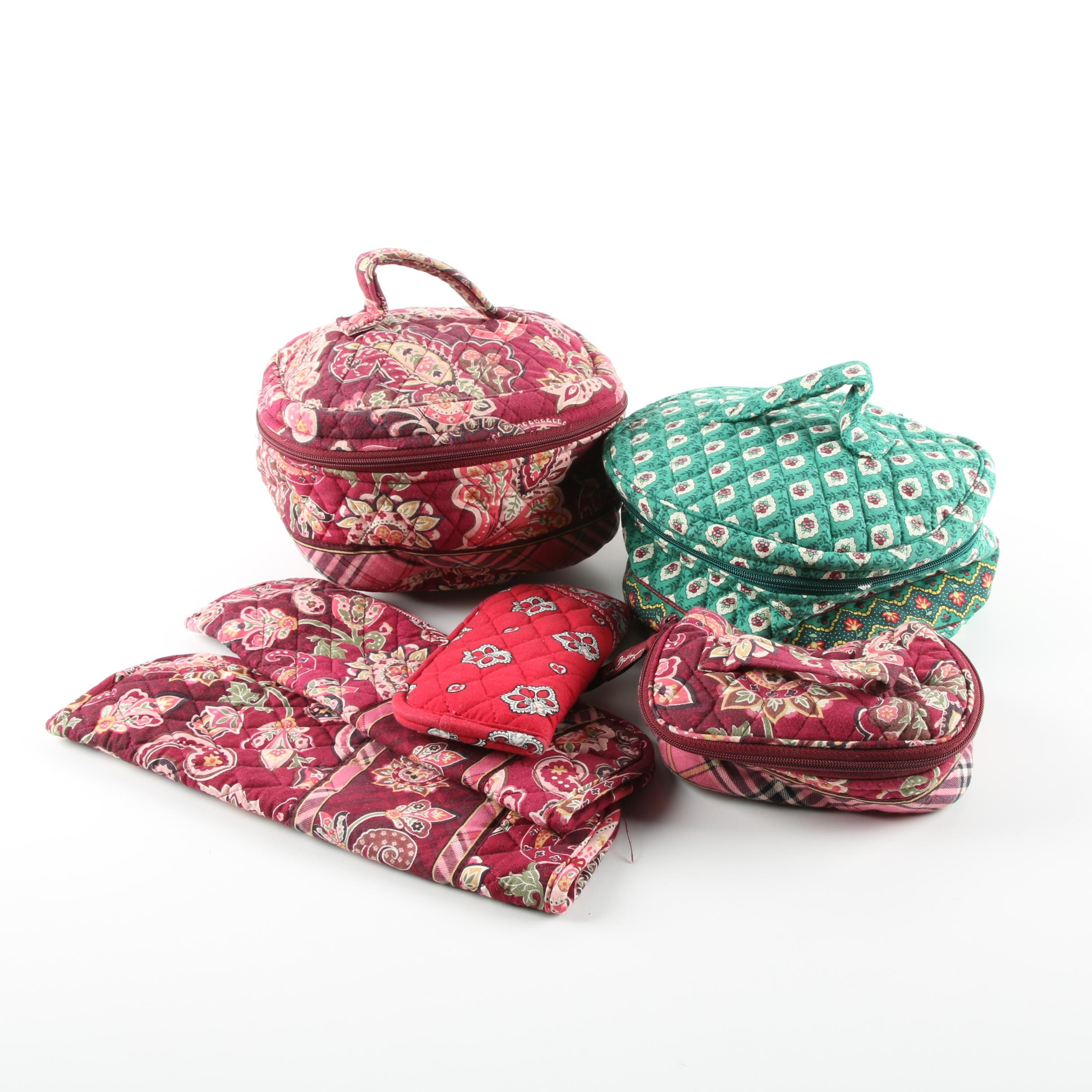 Vera Bradley Retired Pattern Quilted Cosmetic Bags and Accessories