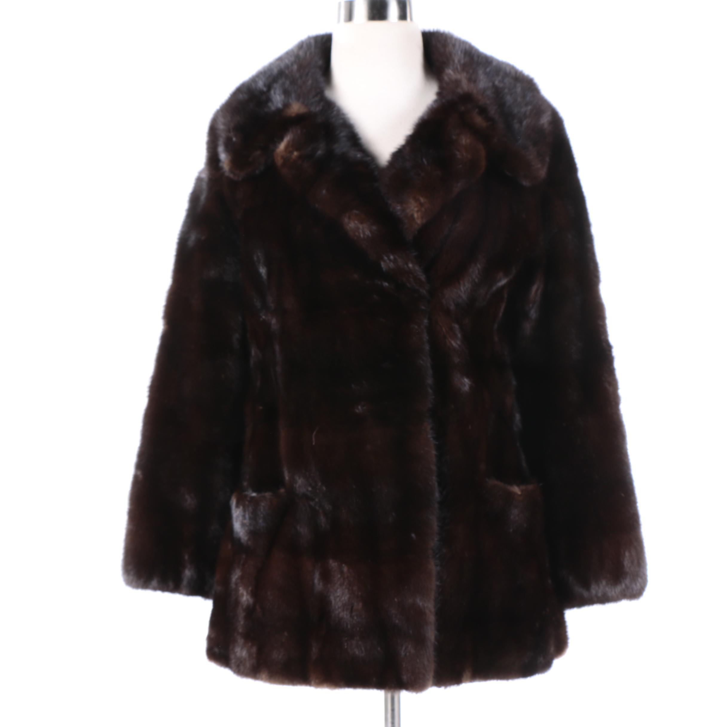Women's Vintage Neiman Marcus Mink Fur Coat