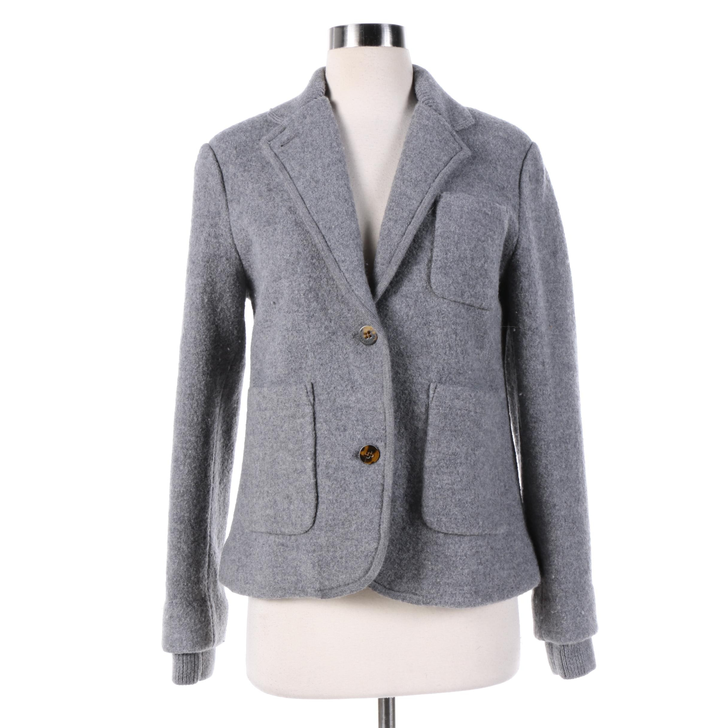 Women's Marc by Marc Jacobs Grey Wool Jacket