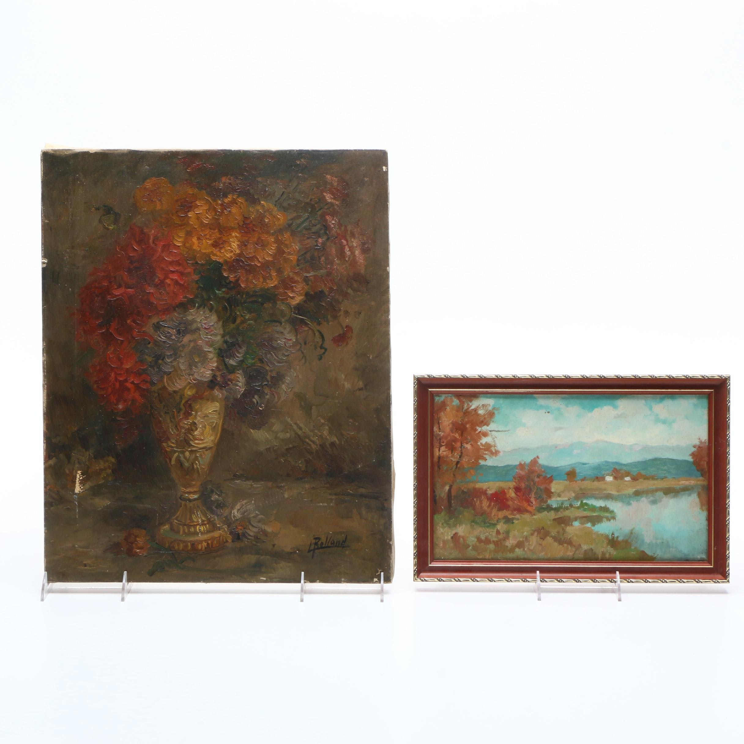 20th Century Oil Paintings