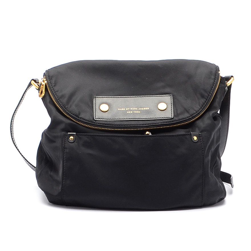 225a785d084 Marc By Marc Jacobs Black Nylon Satchel Handbag   EBTH