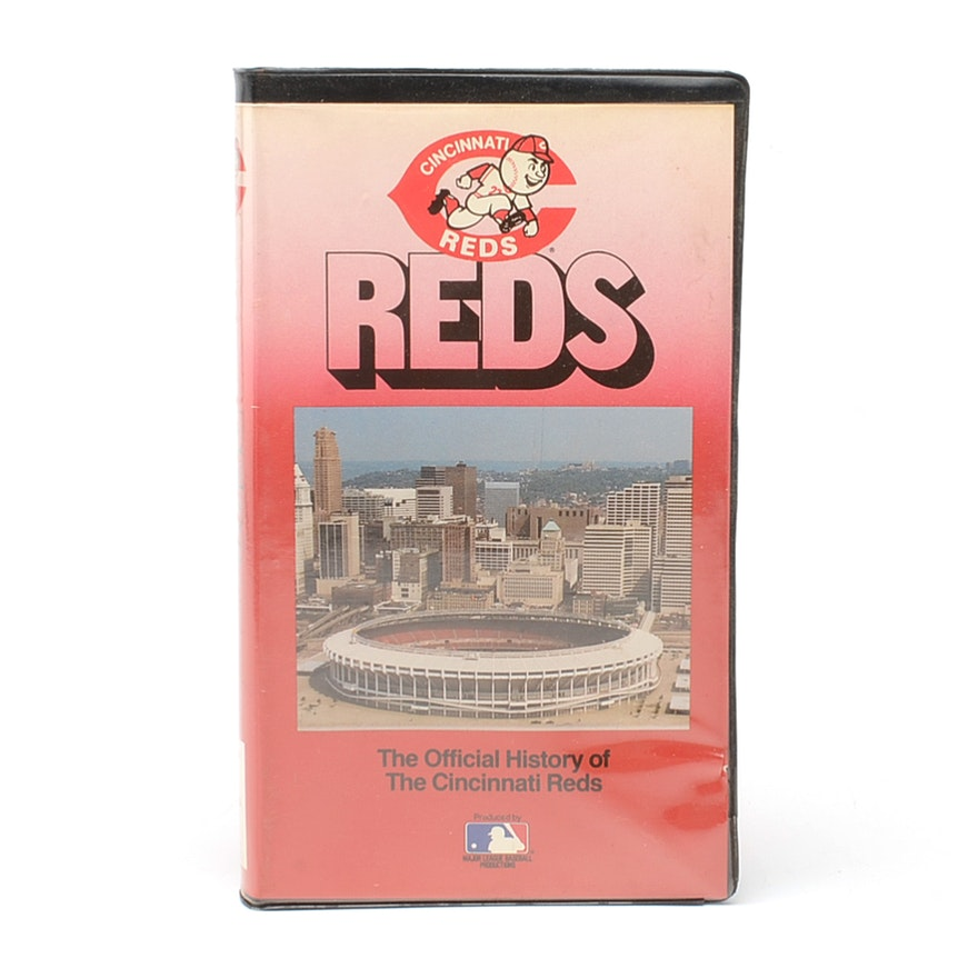 The Official History Of Cincinnati Reds Vhs Tape Ebth