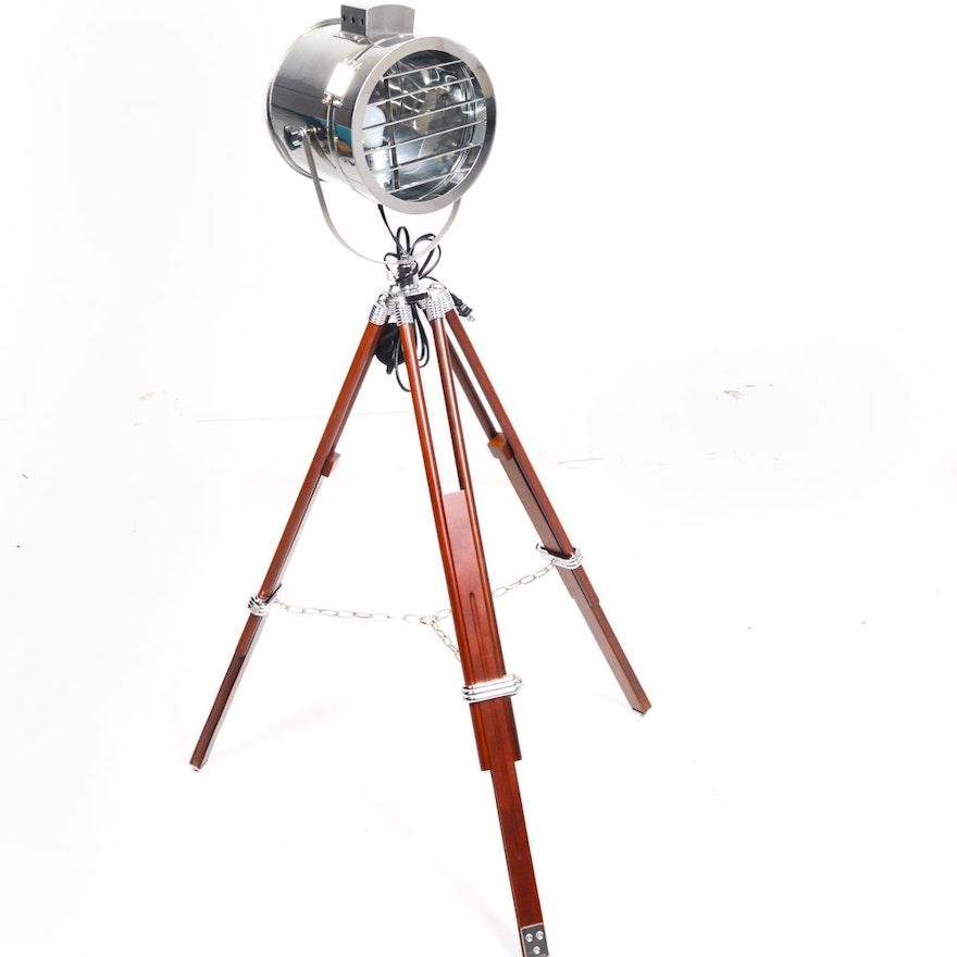 Ralph Lauren Montauk Searchlight Floor Lamp : EBTH
