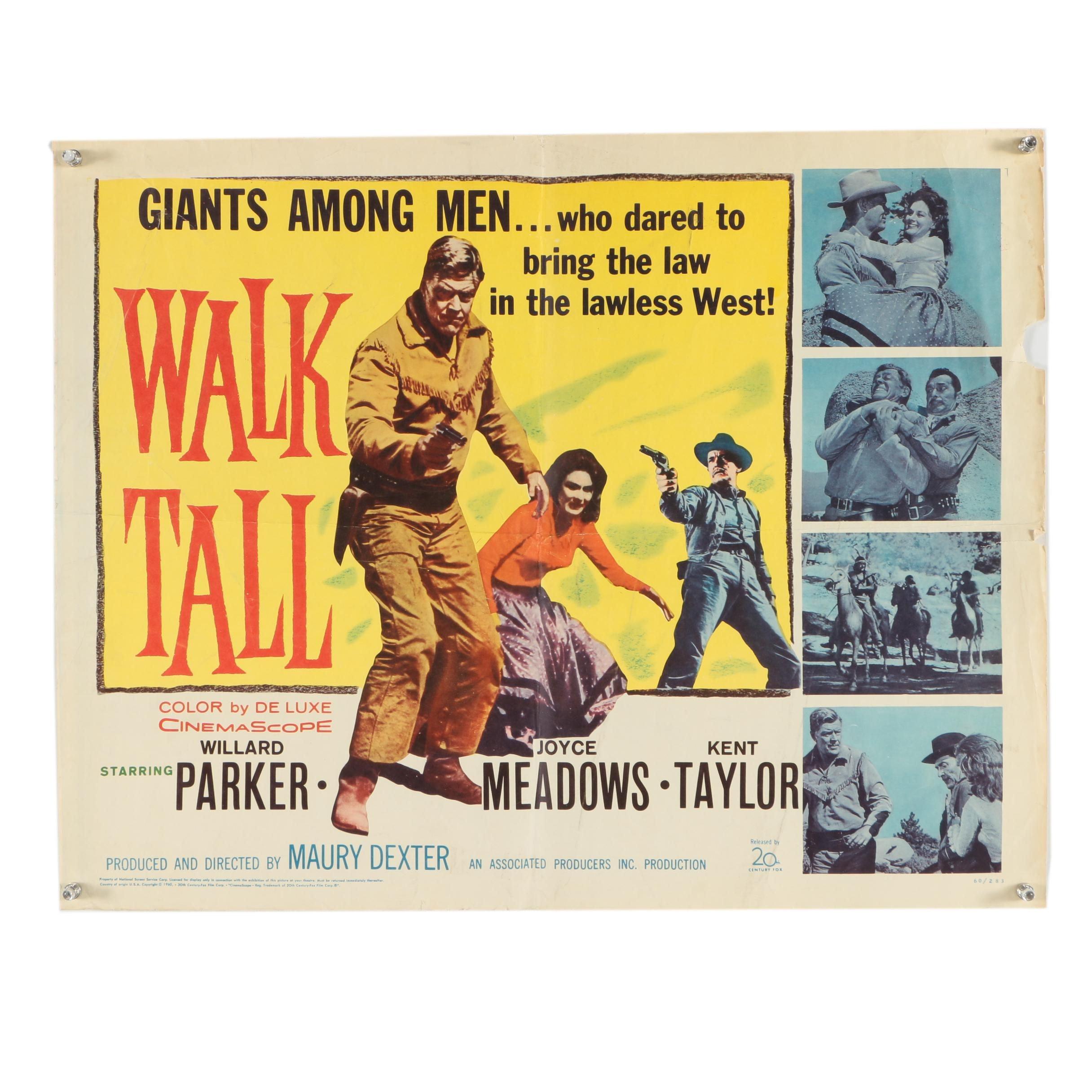 """Giclée Movie Poster """"Walk Tall"""""""