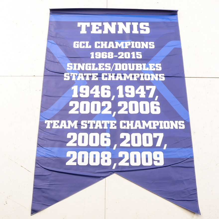 Tennis Team Banners Construction Industry Banners