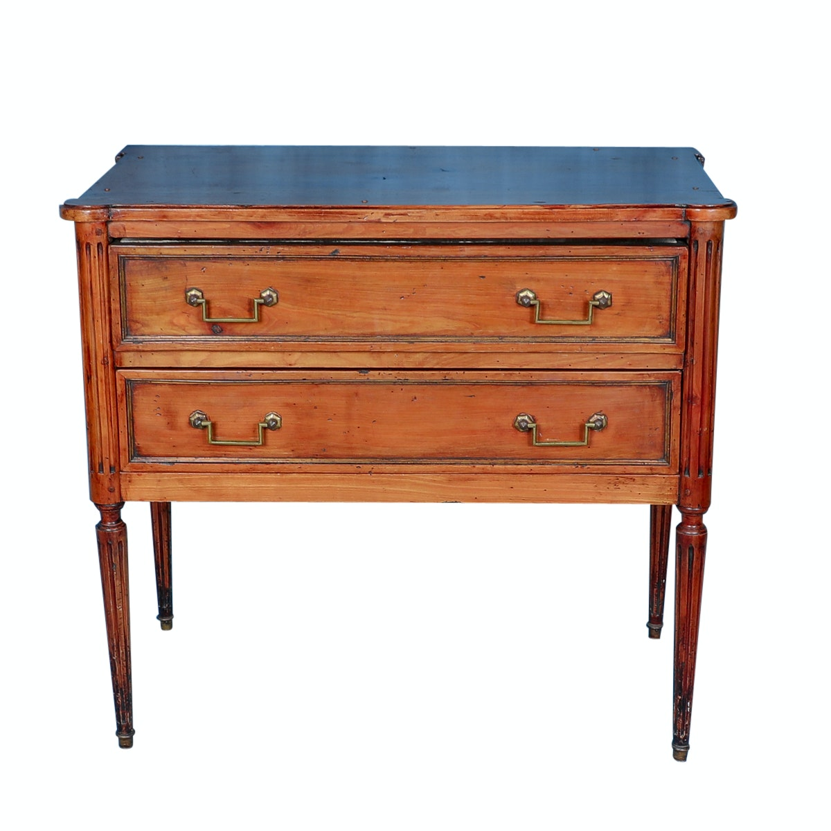 Antique Louis XVI Style Fruitwood Commode