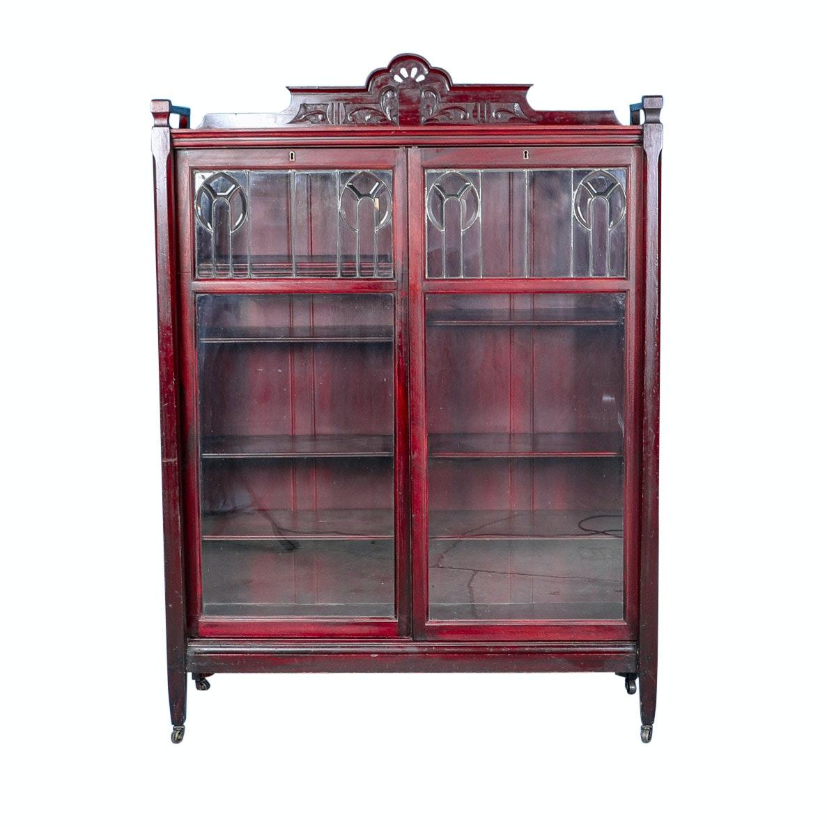 Art Deco Book Cabinet