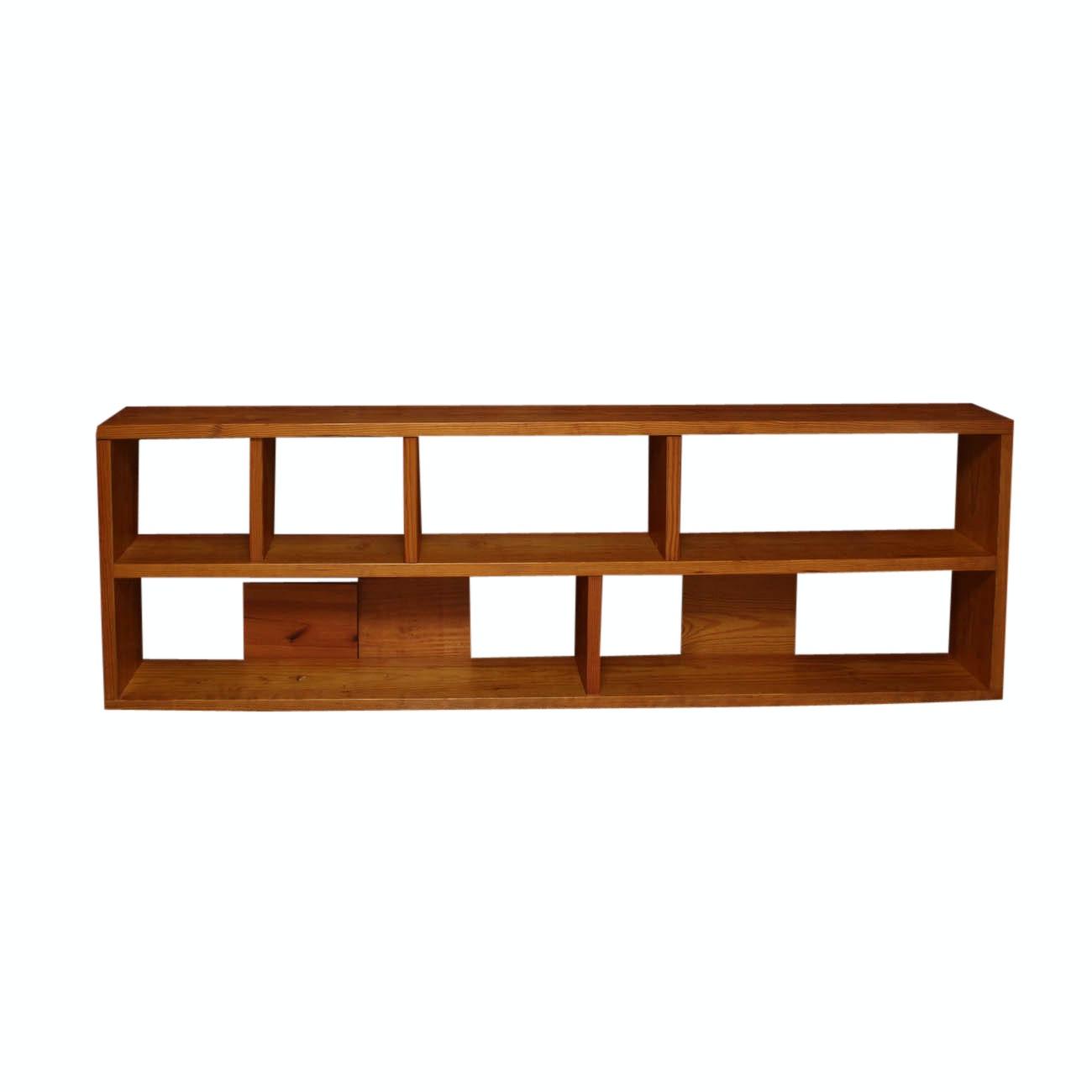Handmade Modular Wooden Bookcase