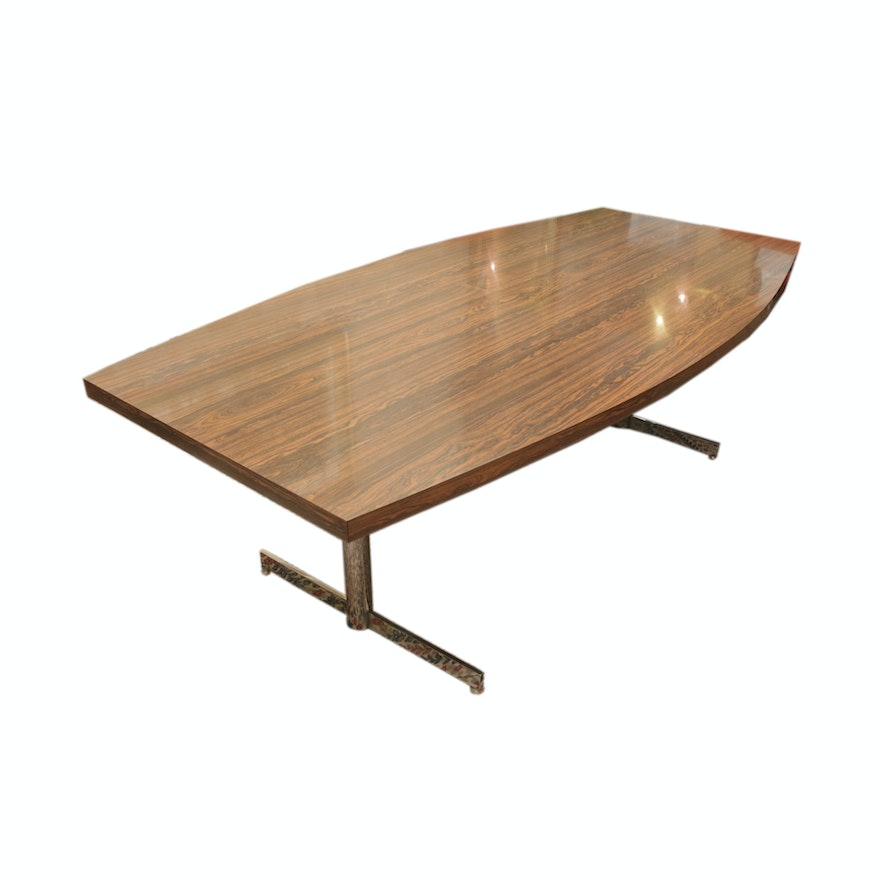 Mid Century Modern Surfboard Conference Table EBTH - Mid century modern conference table