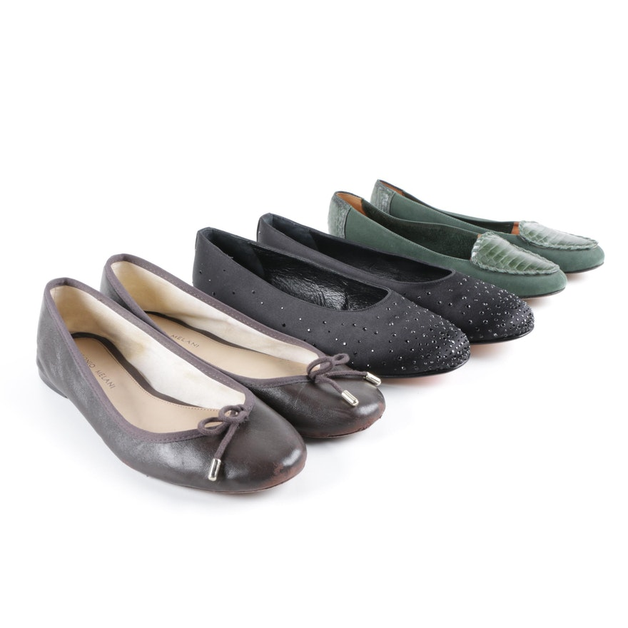 a5a0f574398 Women s Flats Including Nordstrom Snakeskin Accented Flats   EBTH