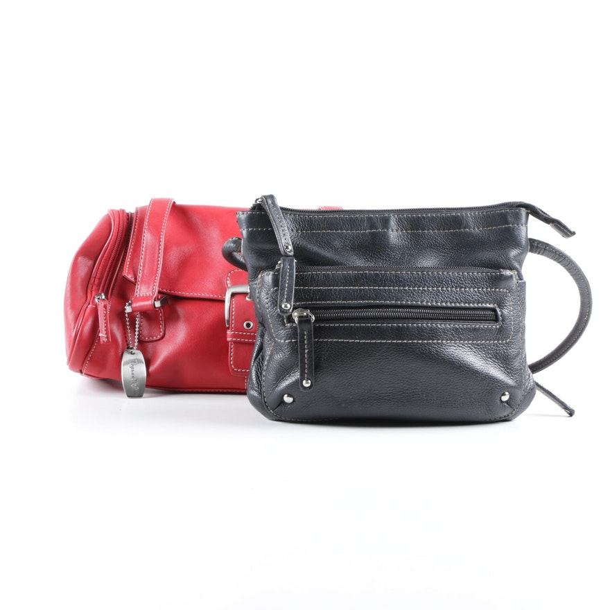 f83b5f1851f6 Tignanello Handbags Including Red and Black Leather   EBTH