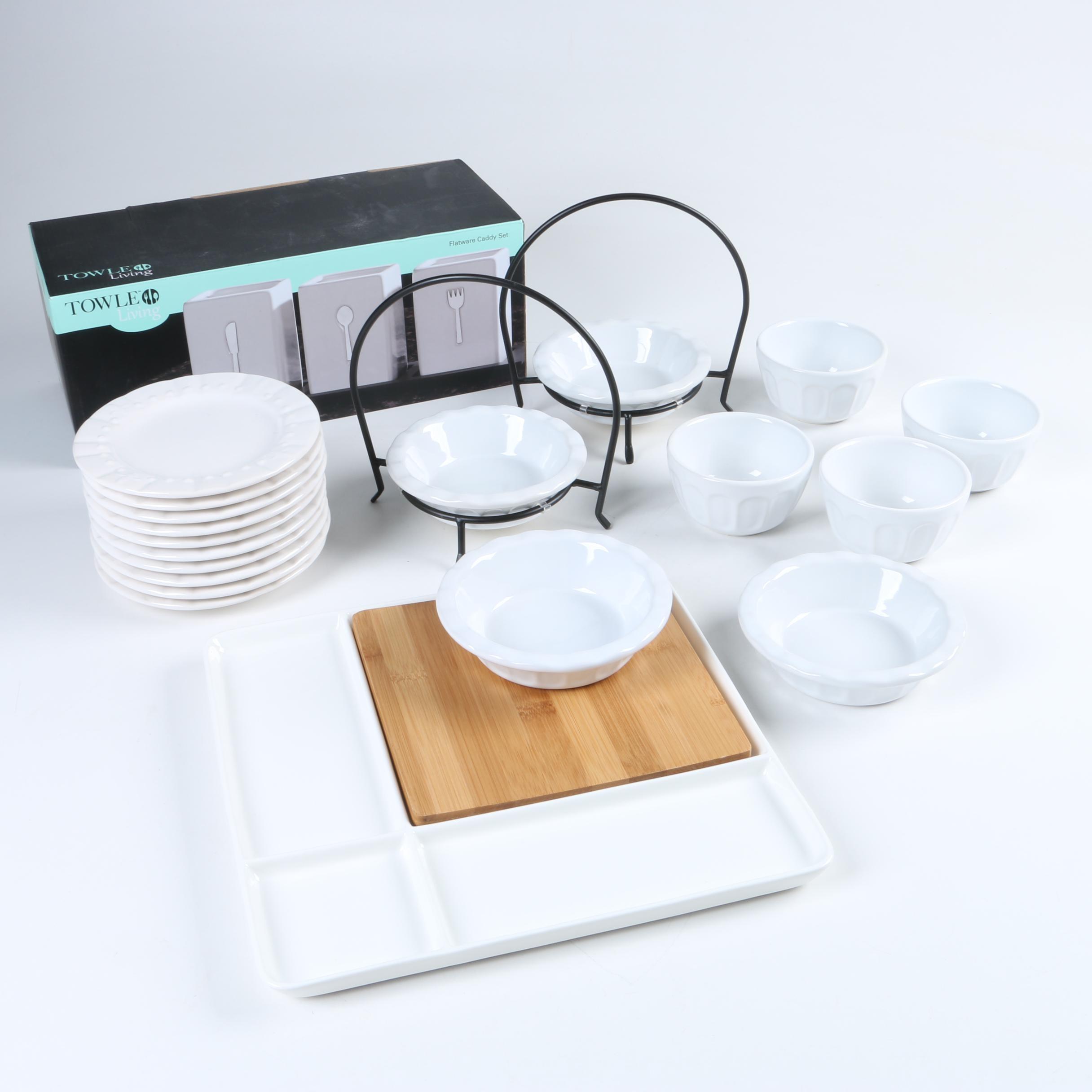 Contemporary Ceramic Tableware and Serveware ... & Contemporary Ceramic Tableware and Serveware : EBTH