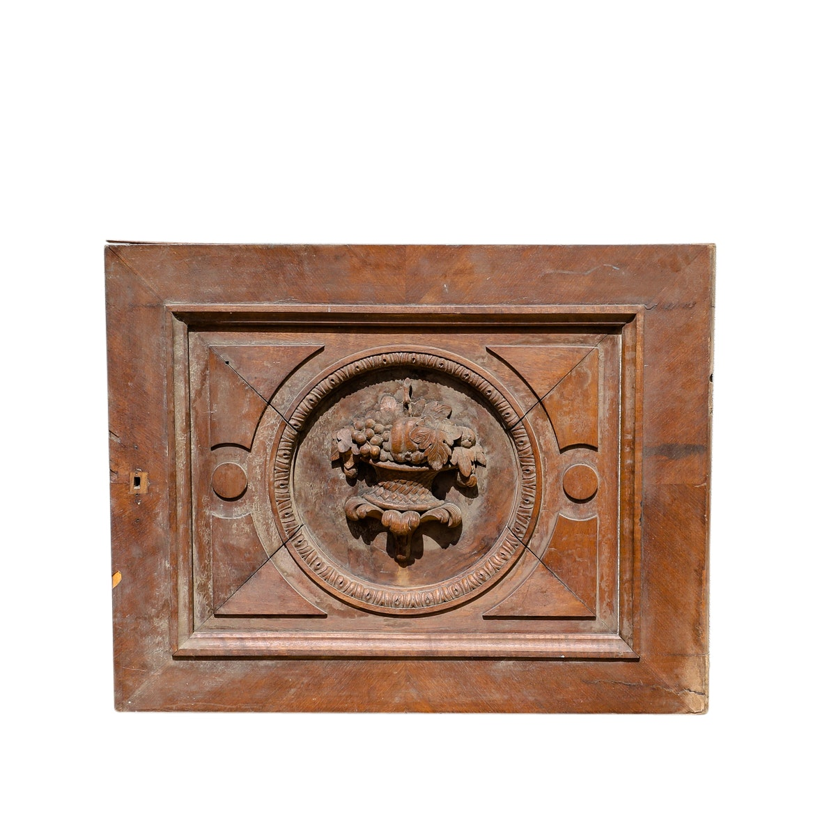 Architectural Artifact Carved Wood Panel
