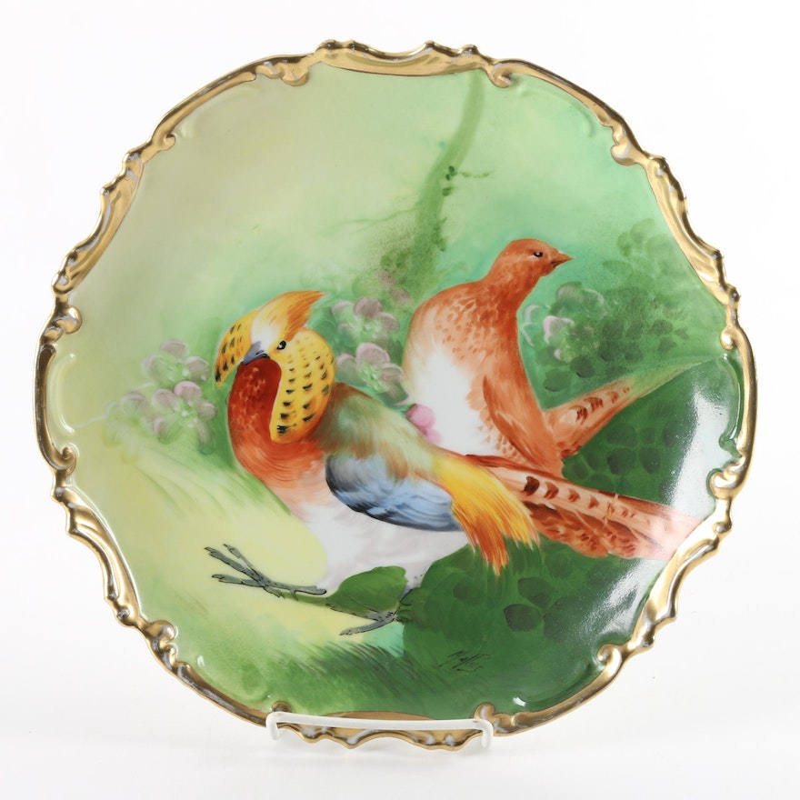 Antique Hand-Painted Limoges \
