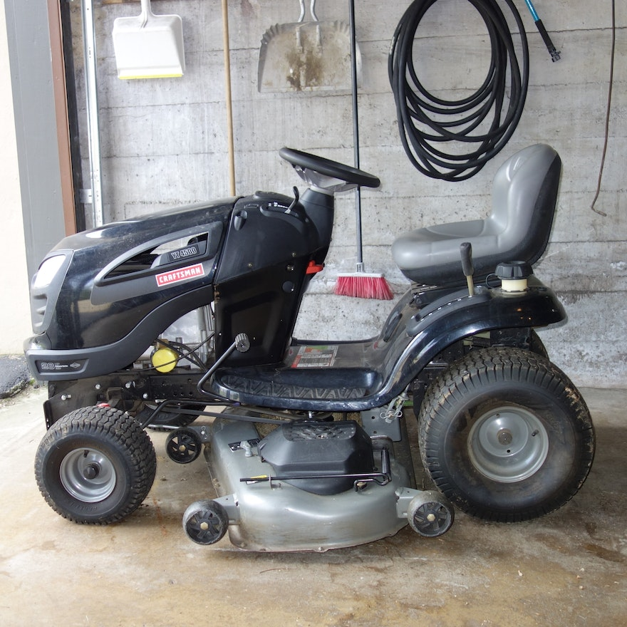 Craftsman YT4500 Riding Mower and Accessories