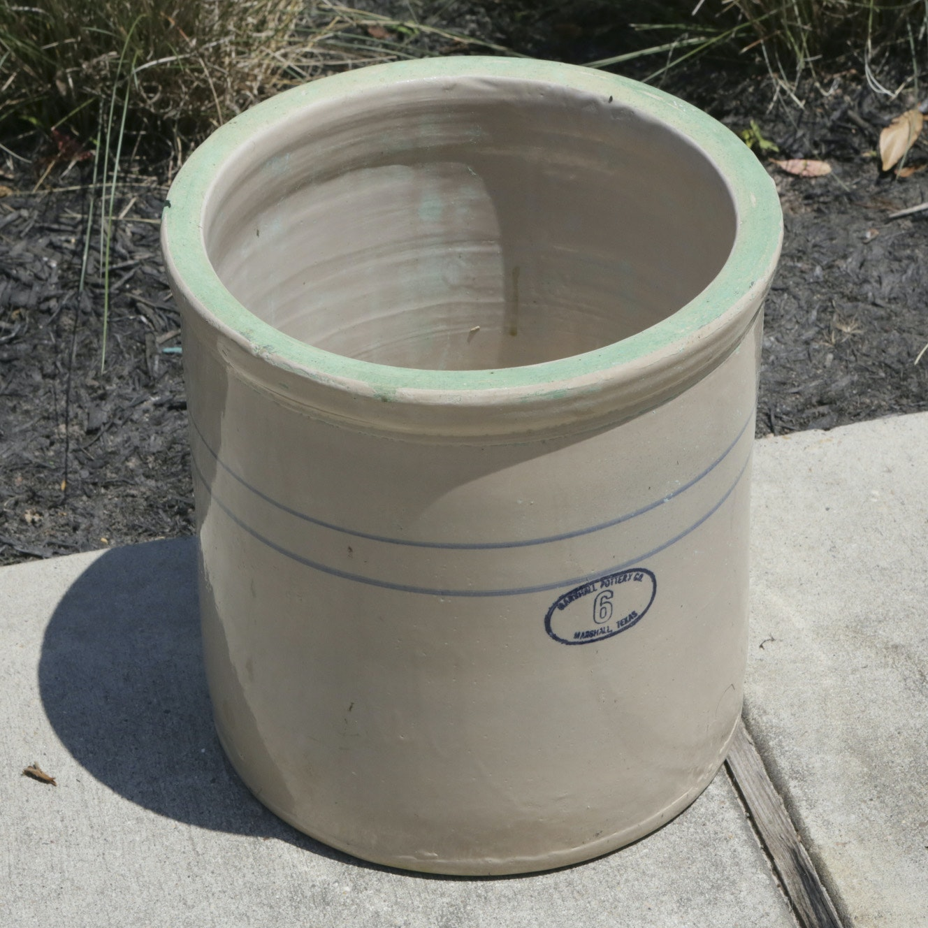 Marshall Pottery Co. Stoneware Crock