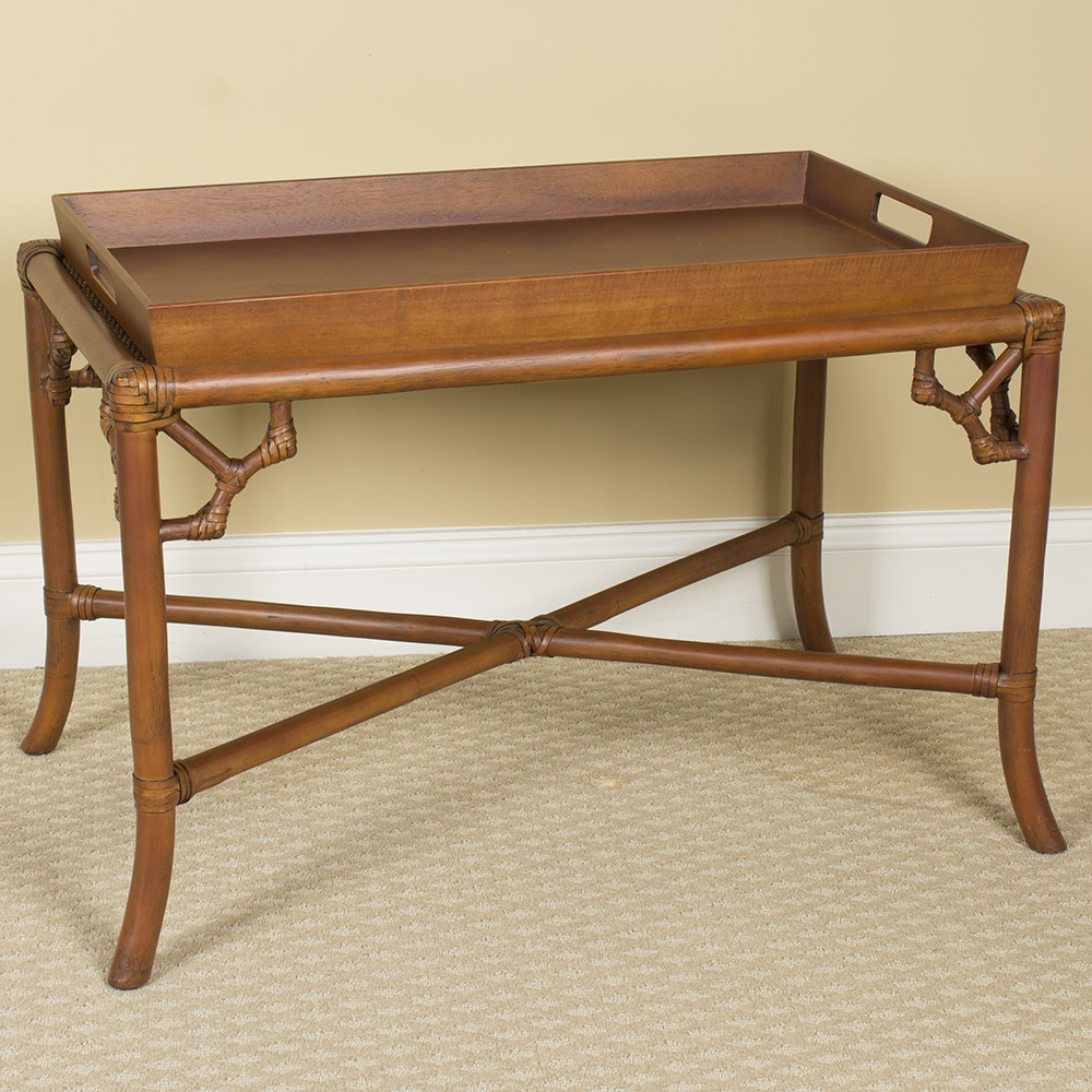 Rattan Tray Coffee Table
