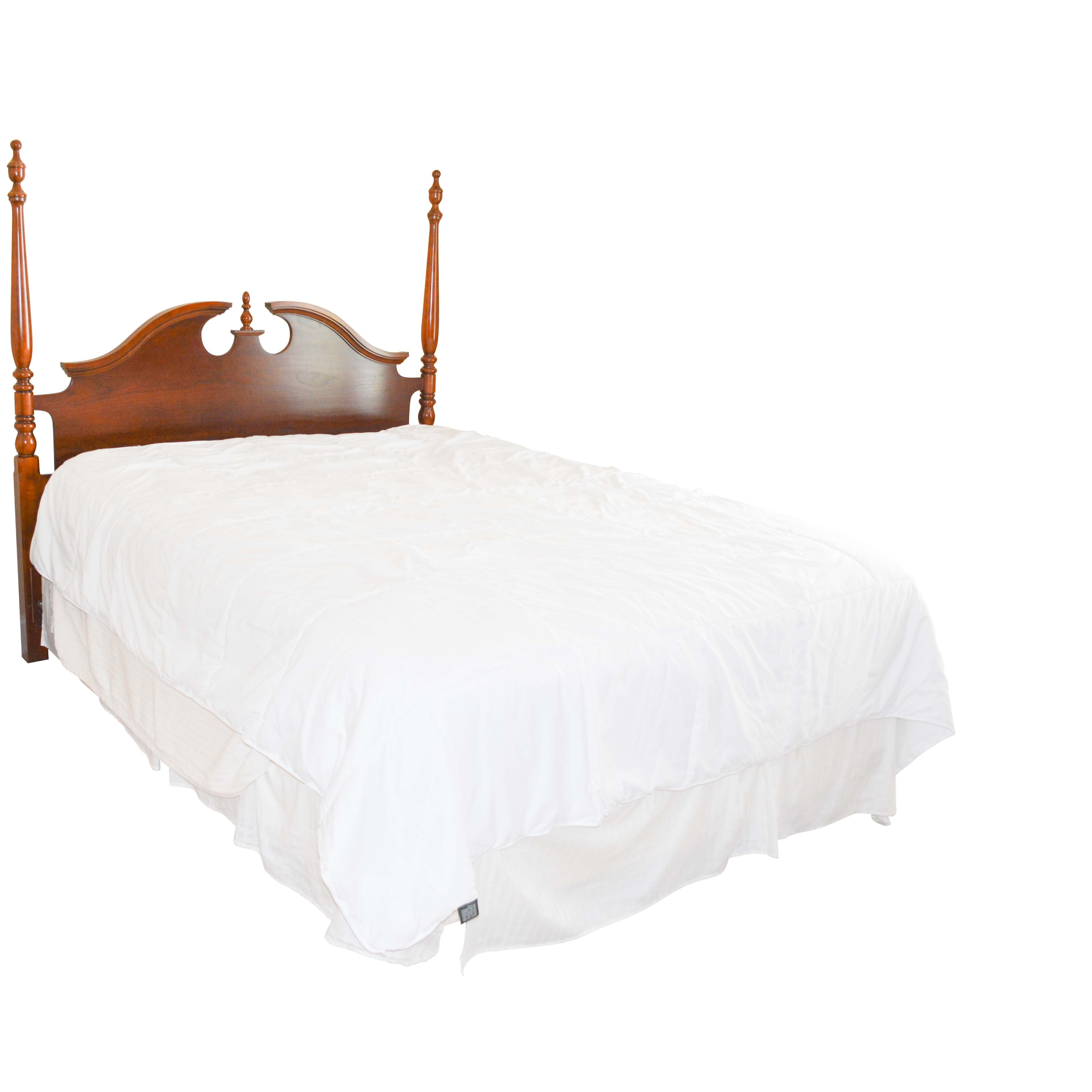 Vintage Federal Style Queen Size Headboard