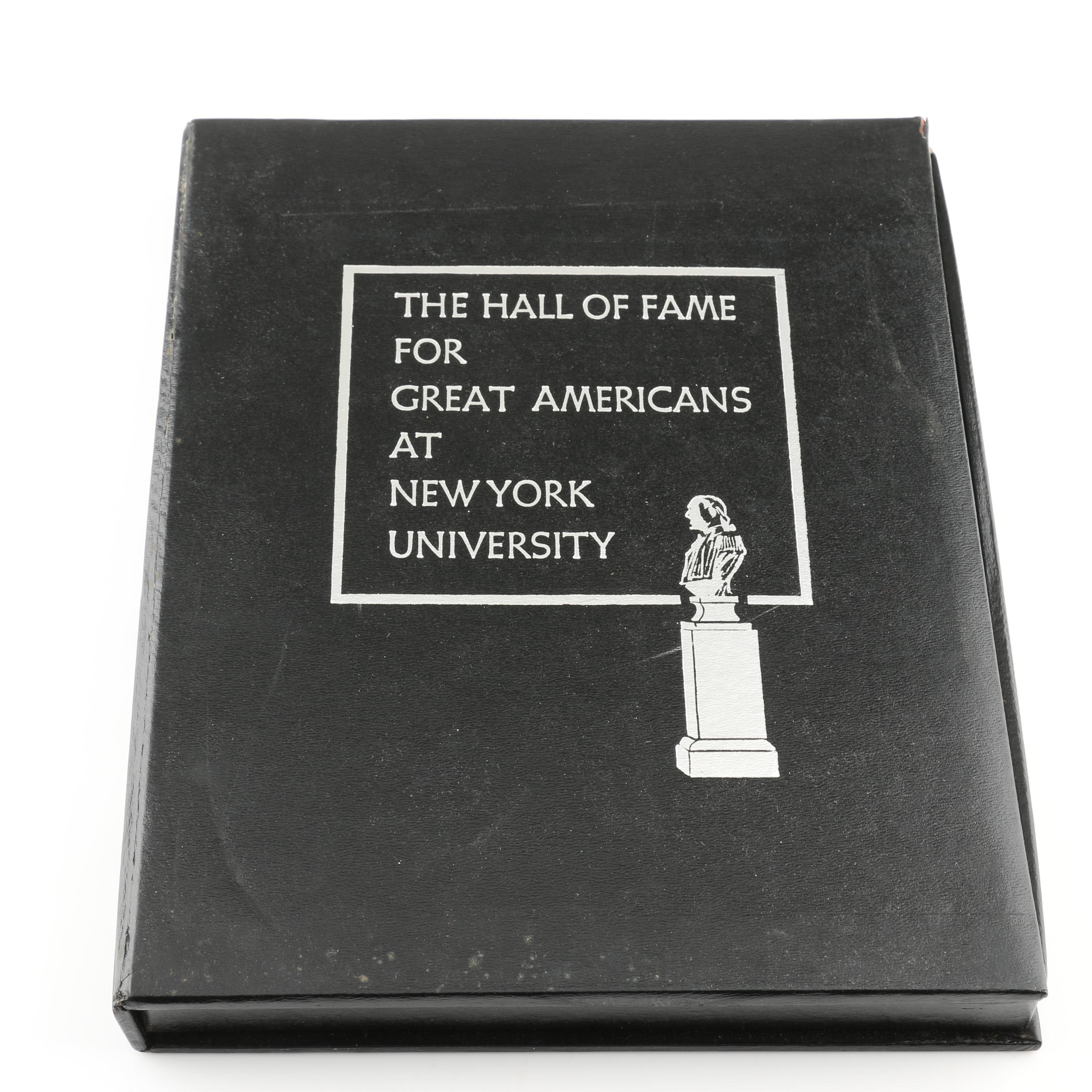 """The Hall of Fame For Great Americans"" Medal Set"