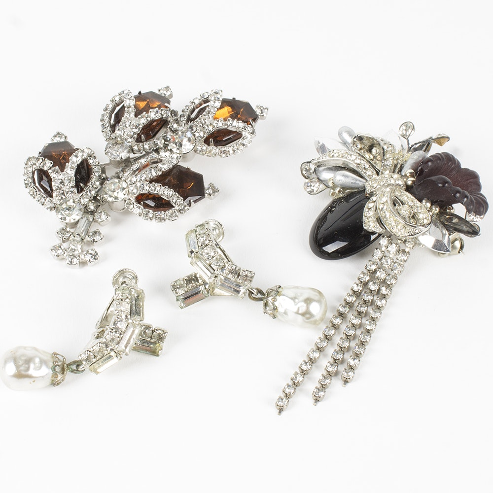 Costume Jewelry Assortment Featuring Nicole Mintzes Vendome and Hobe ...  sc 1 st  EBTH.com & Costume Jewelry Assortment Featuring Nicole Mintzes Vendome and ...