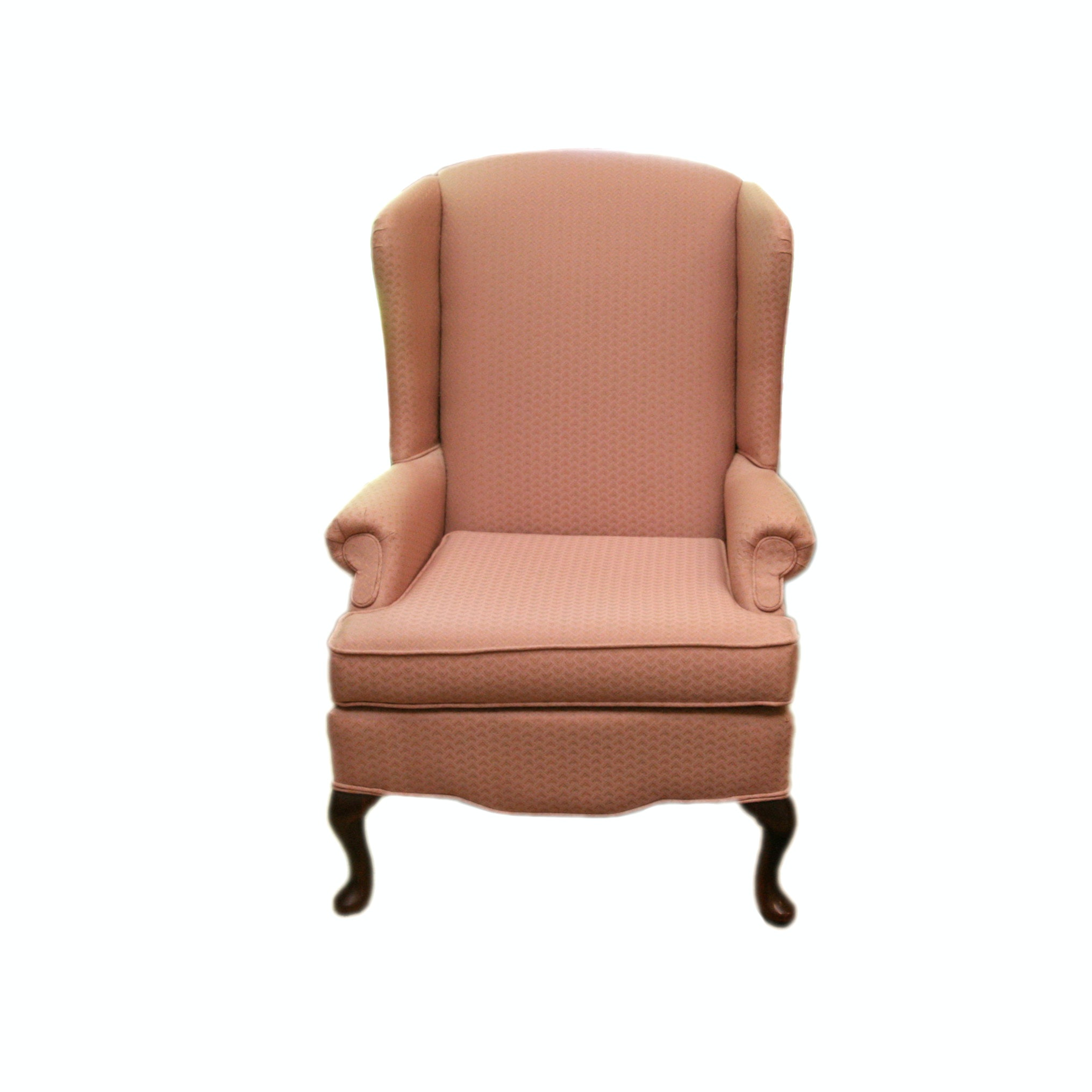 Upholstered Wingback Chair by Best Chairs