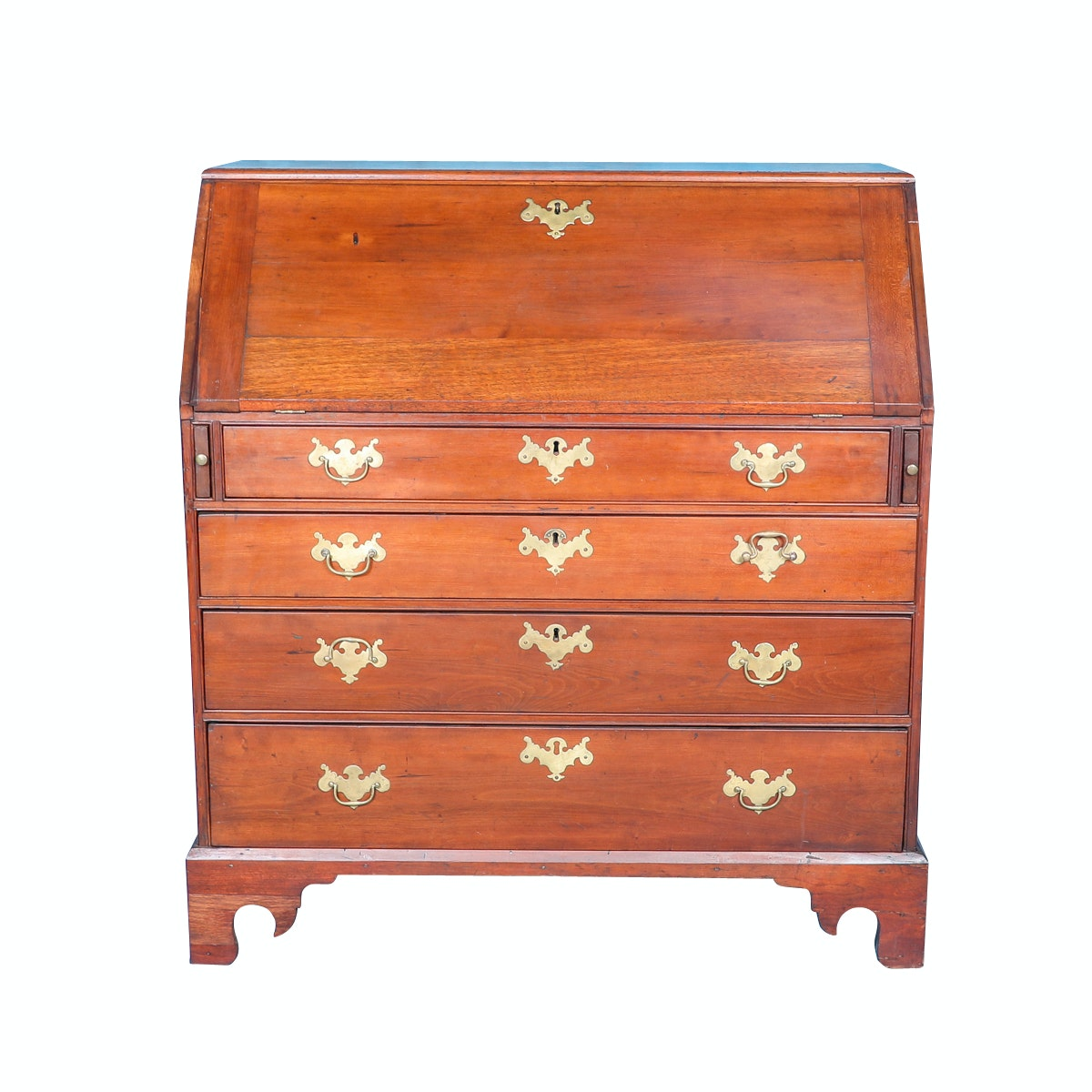 Antique George II Style Secretary Desk, Circa 1700s