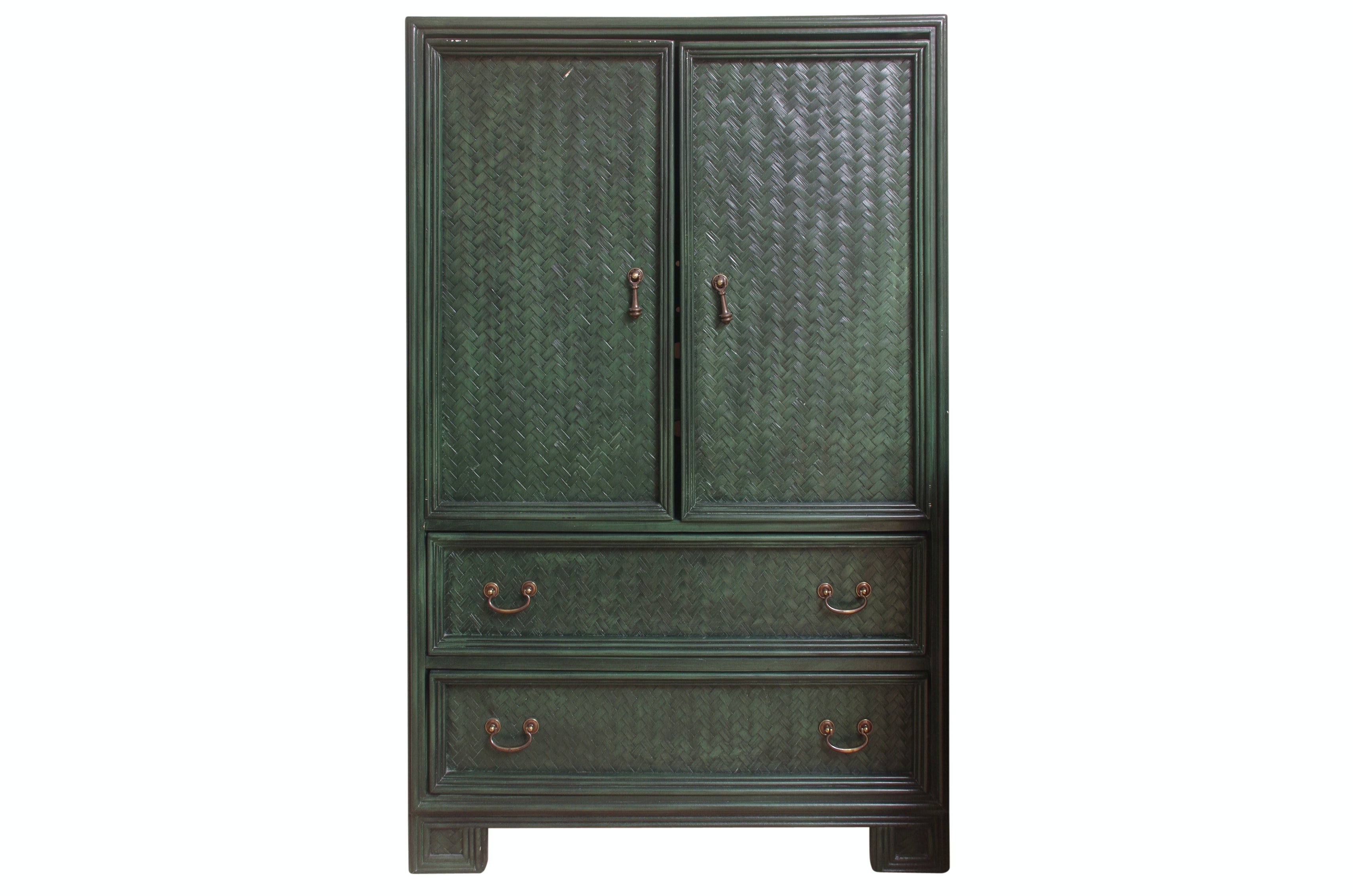 Painted Media Cabinet By Whitecraft ...