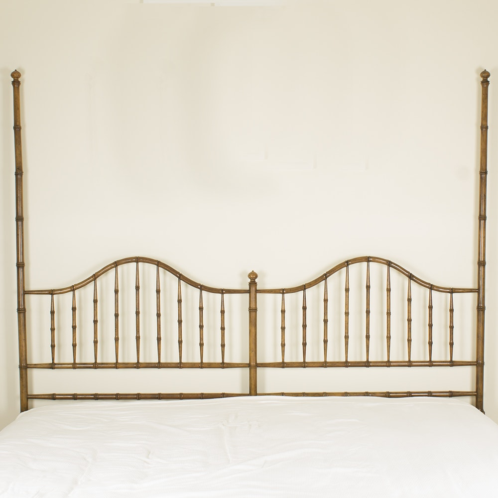 Faux Bamboo King Size Headboard