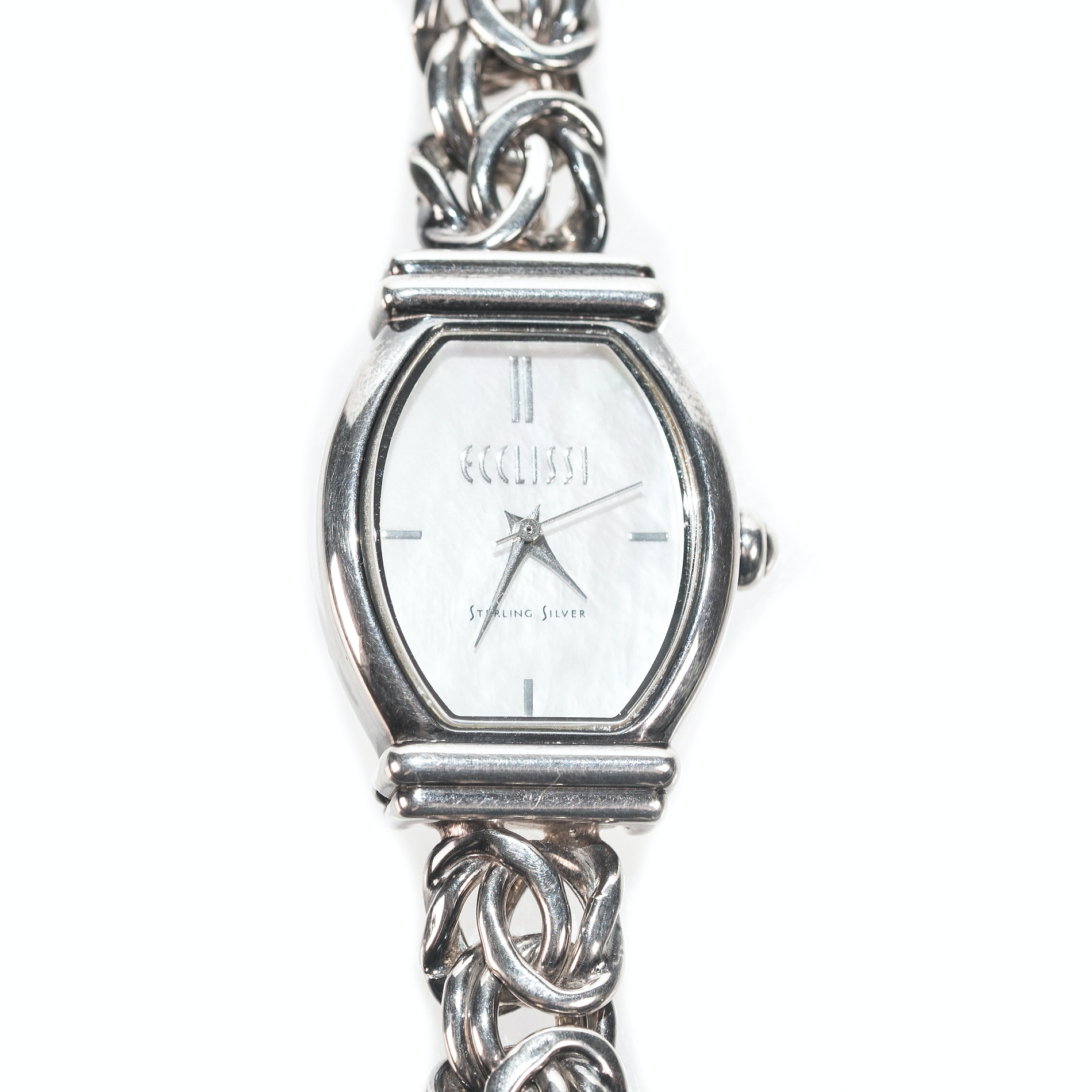 Sterling Silver Ecclissi Wristwatch