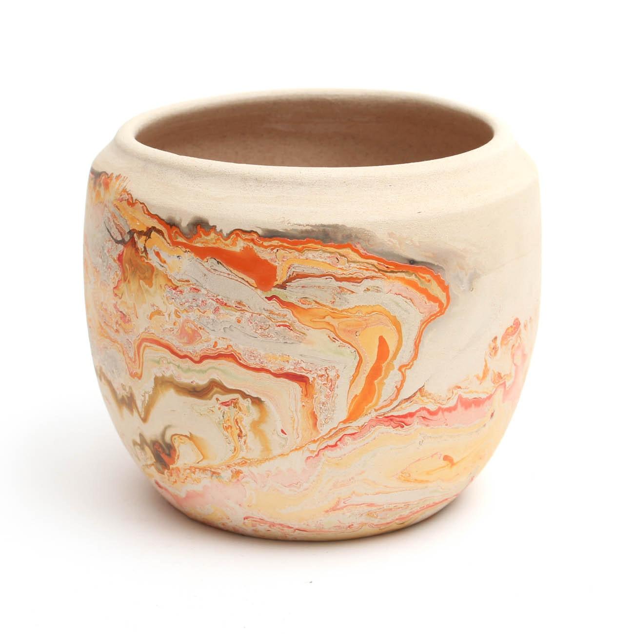 Nemadji Pottery Stoneware Vase