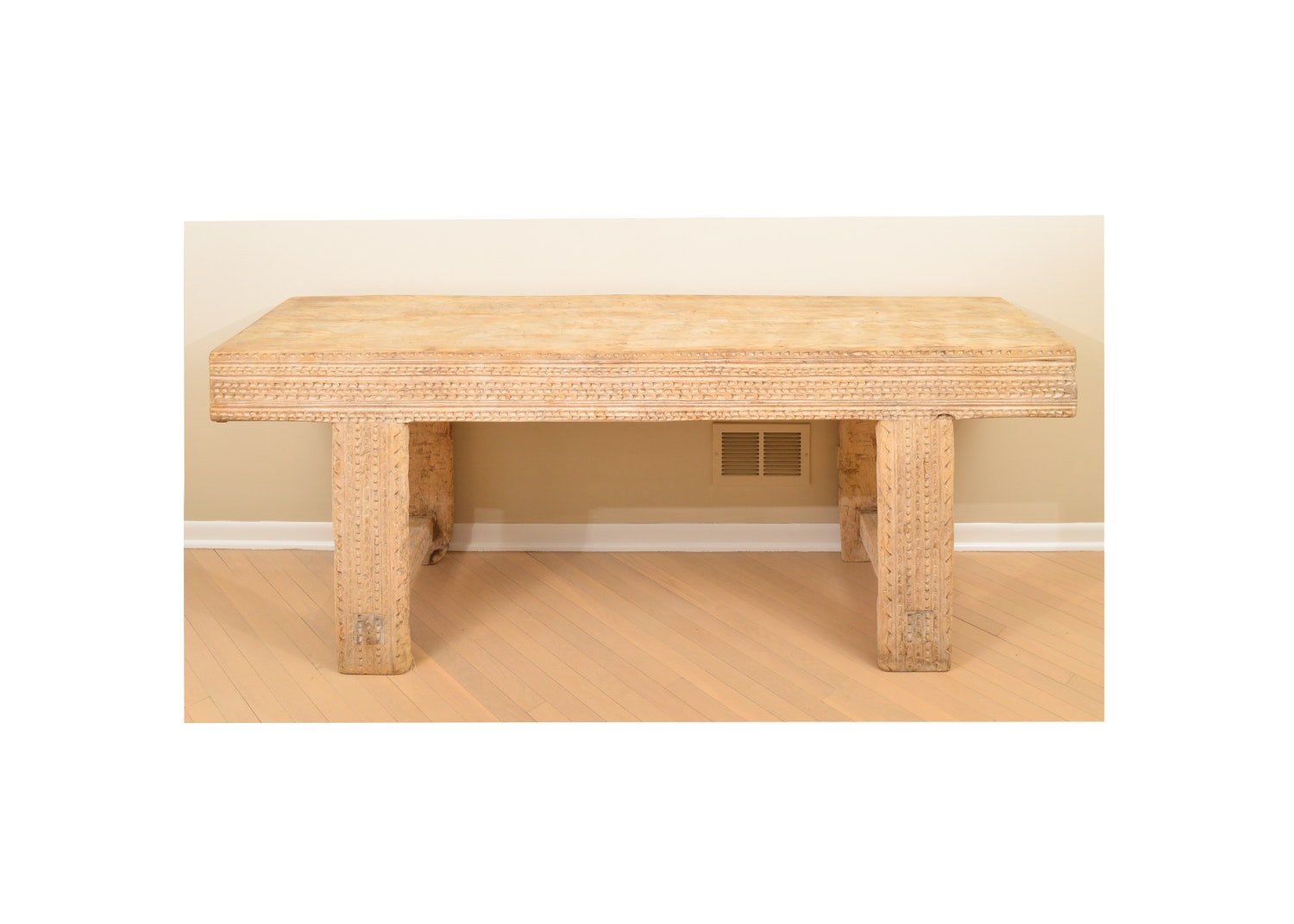 Primitive Wooden Console Table