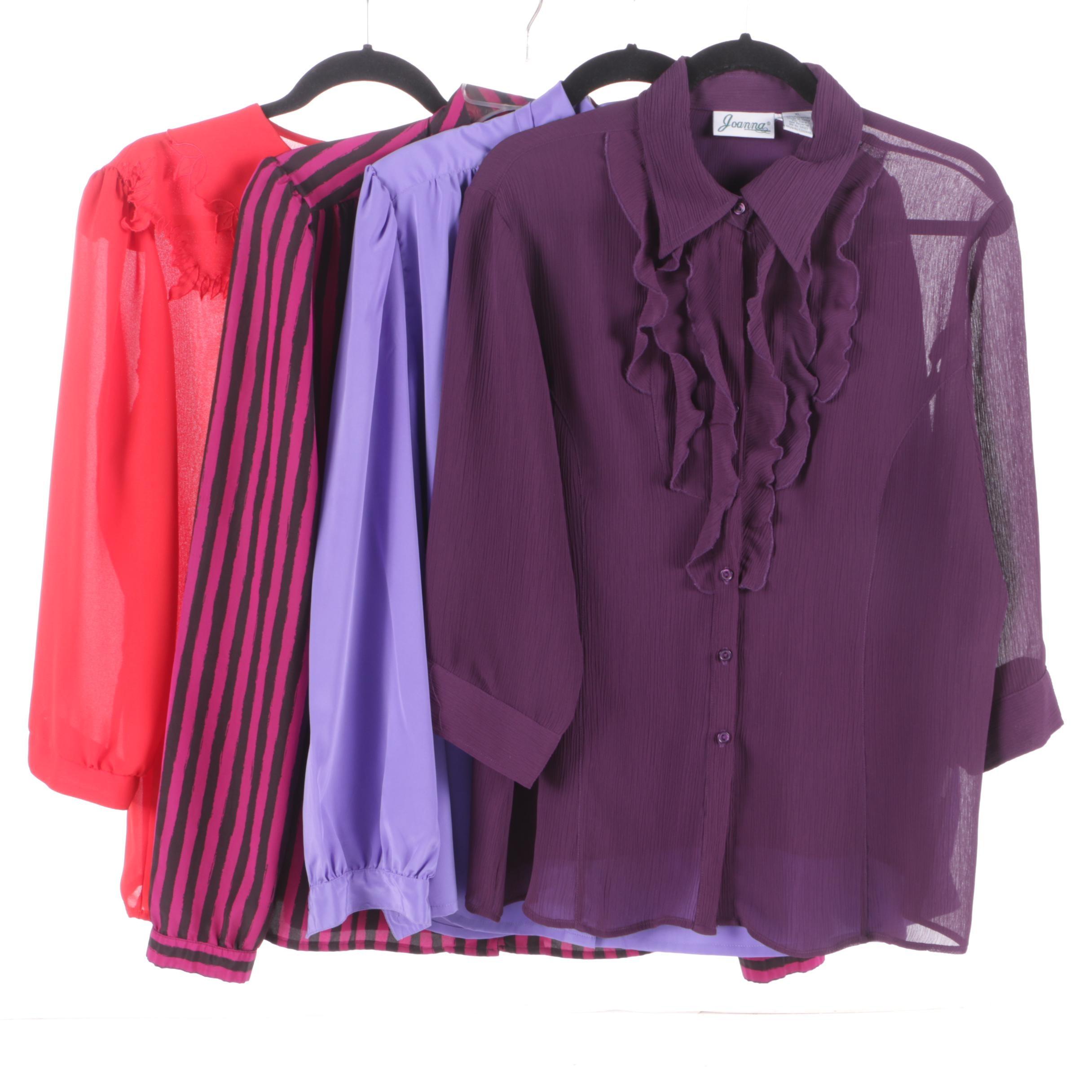 Women's Blouses Including Joanna, Josephine Woman, Sheldon, Winks Lane