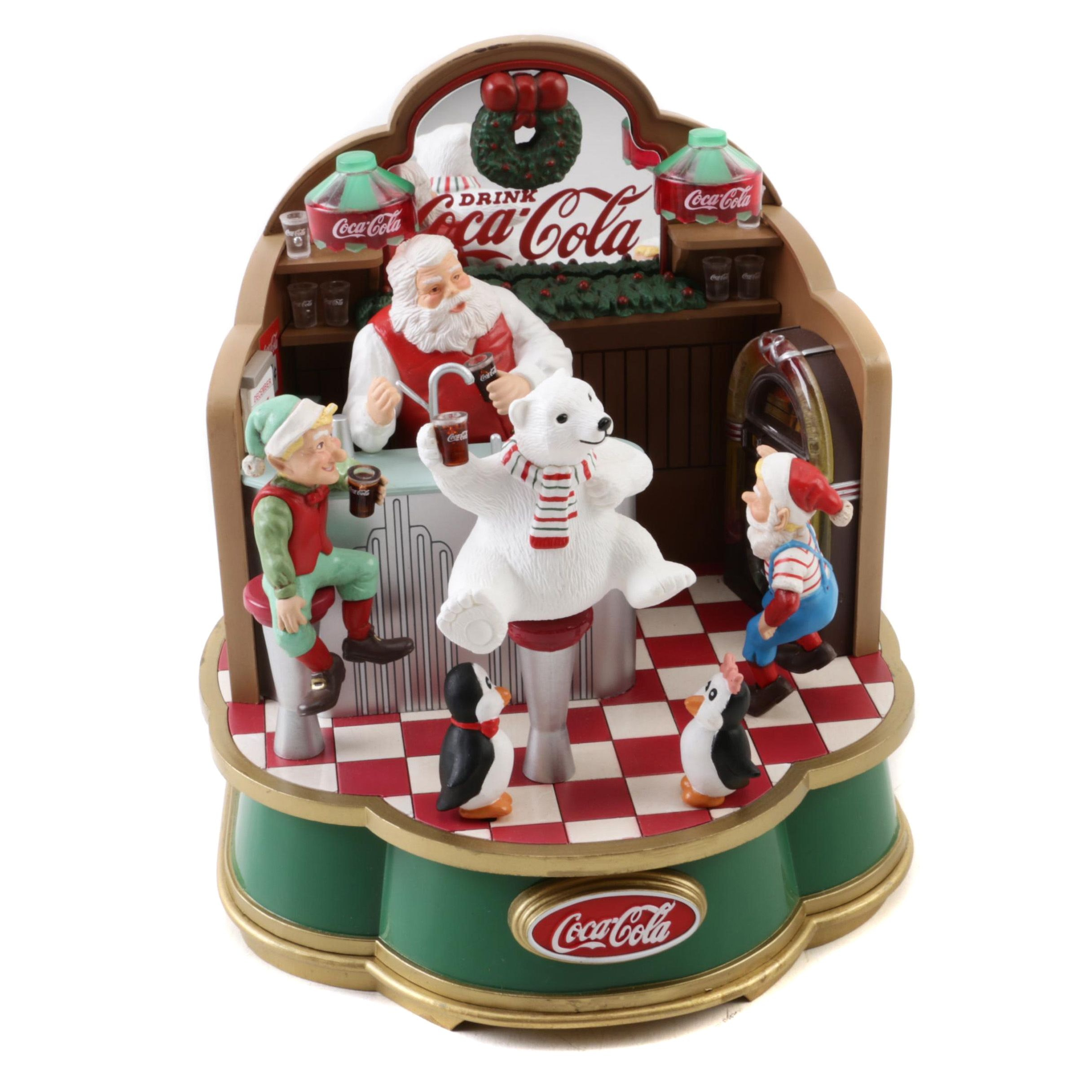 1994 Coca-Cola Collectible Music Box
