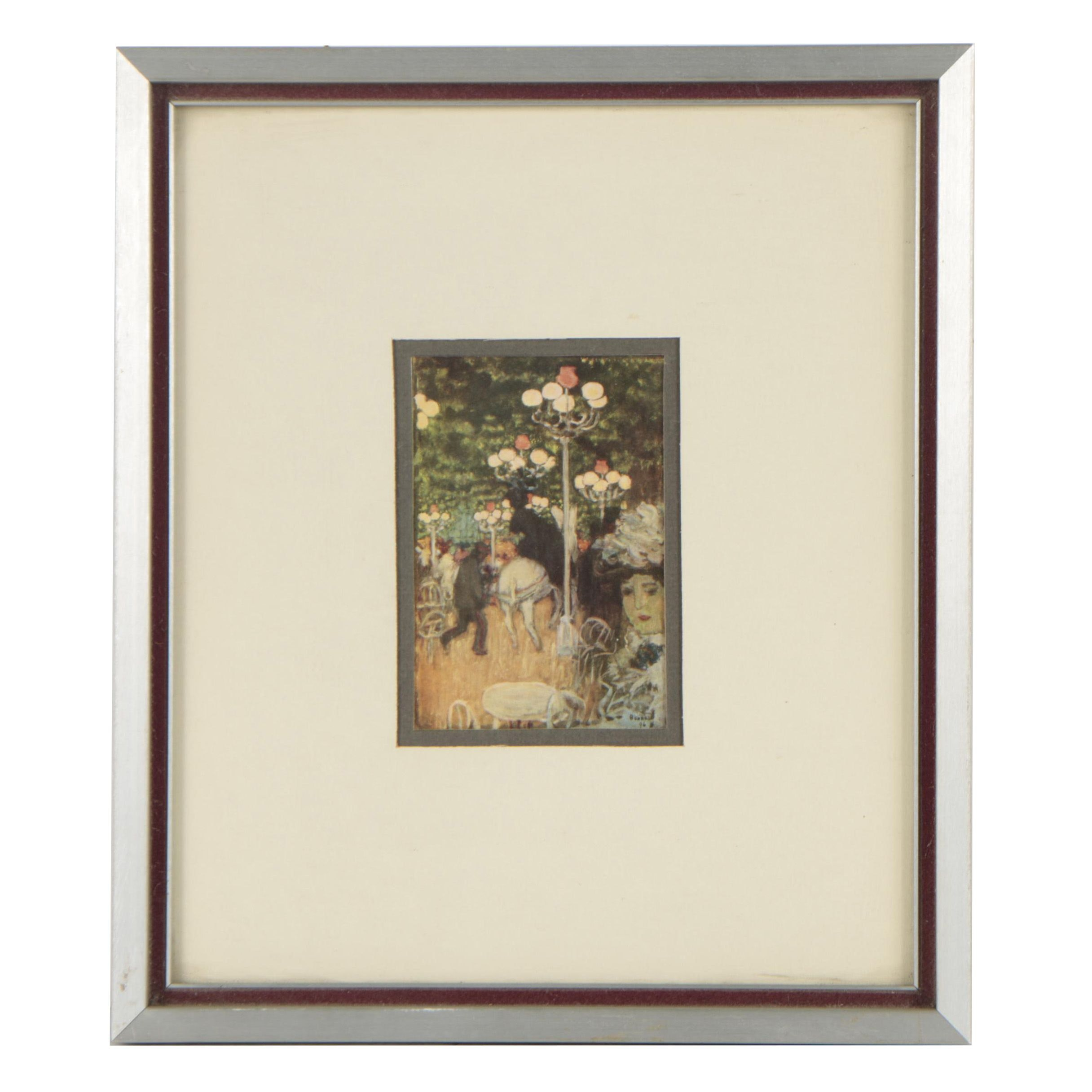 Offset Lithograph After Pierre Bonnard