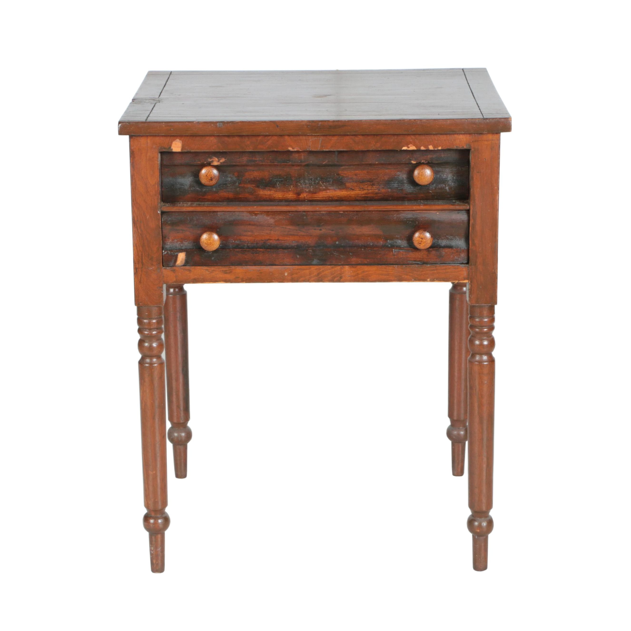 Antique Federal Style Accent Table